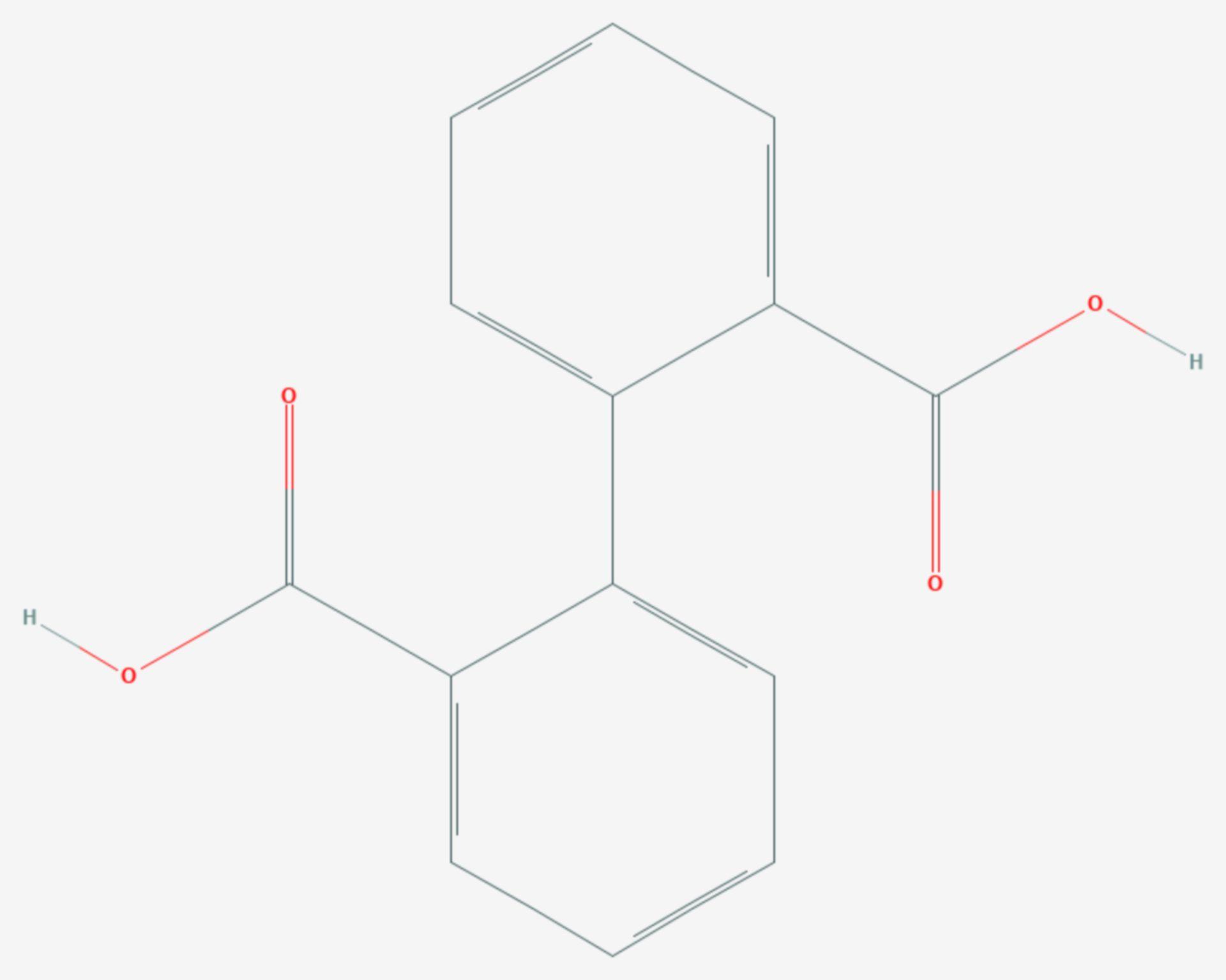Diphensäure (Strukturformel)