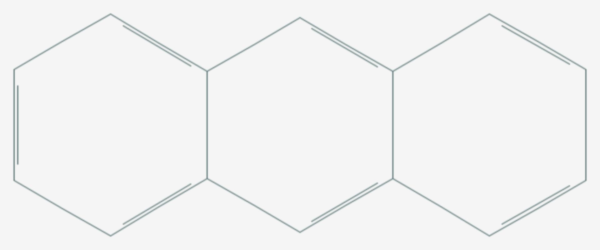 Anthracen (Strukturformel)