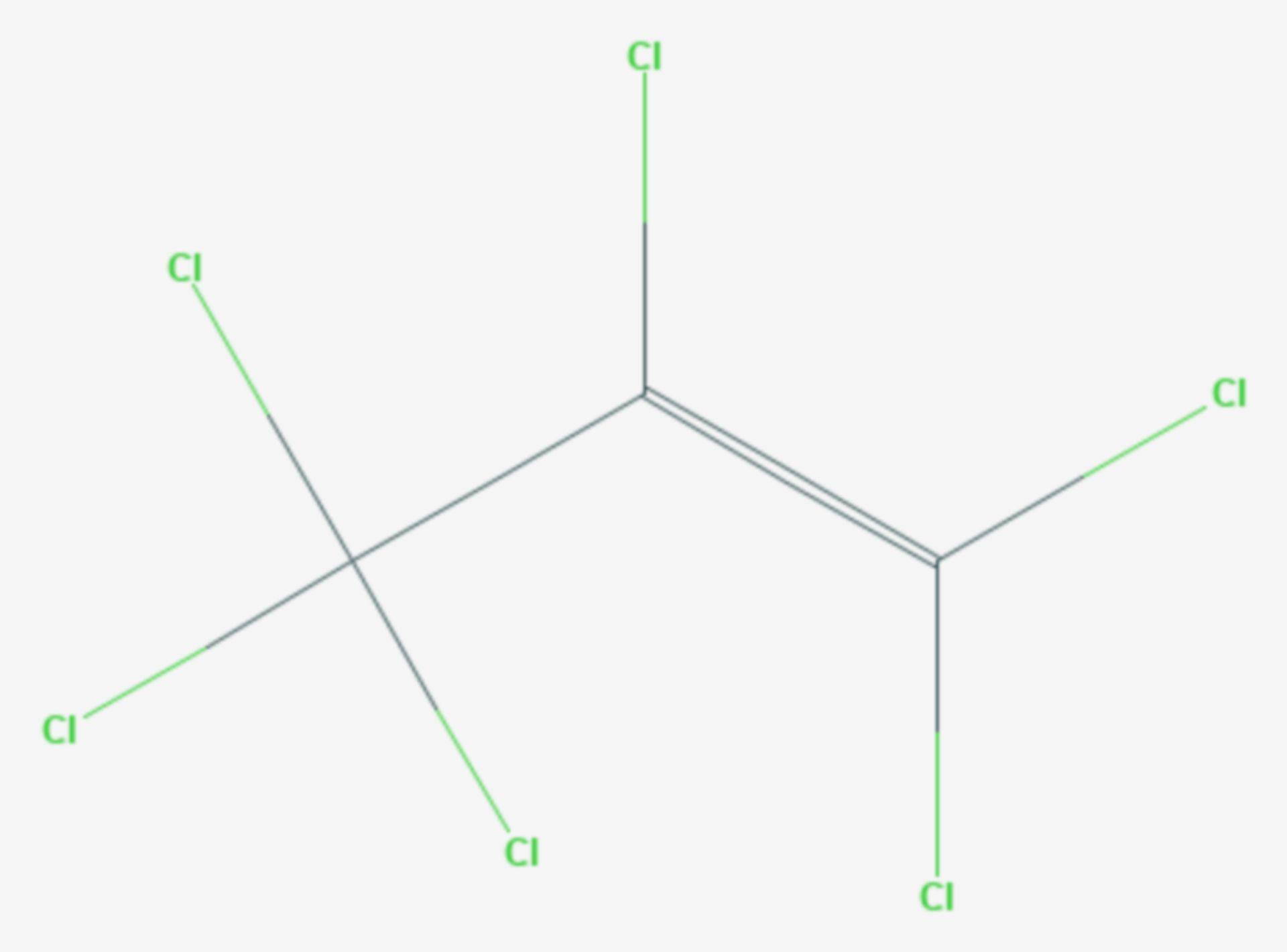 Hexachlorpropen (Strukturformel)