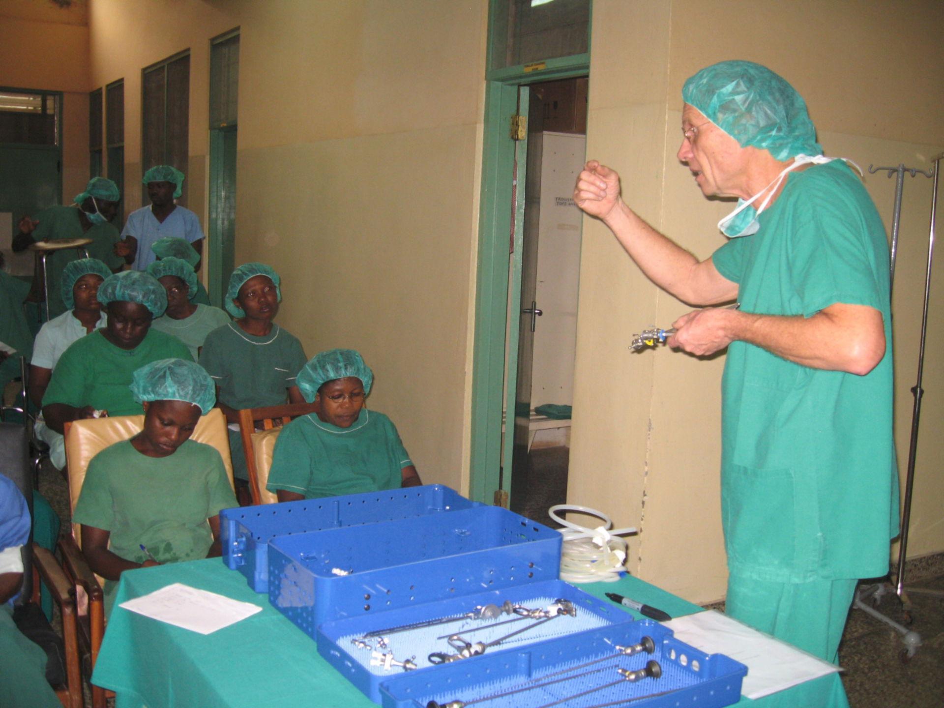 La formazione del personale infermieristico locale