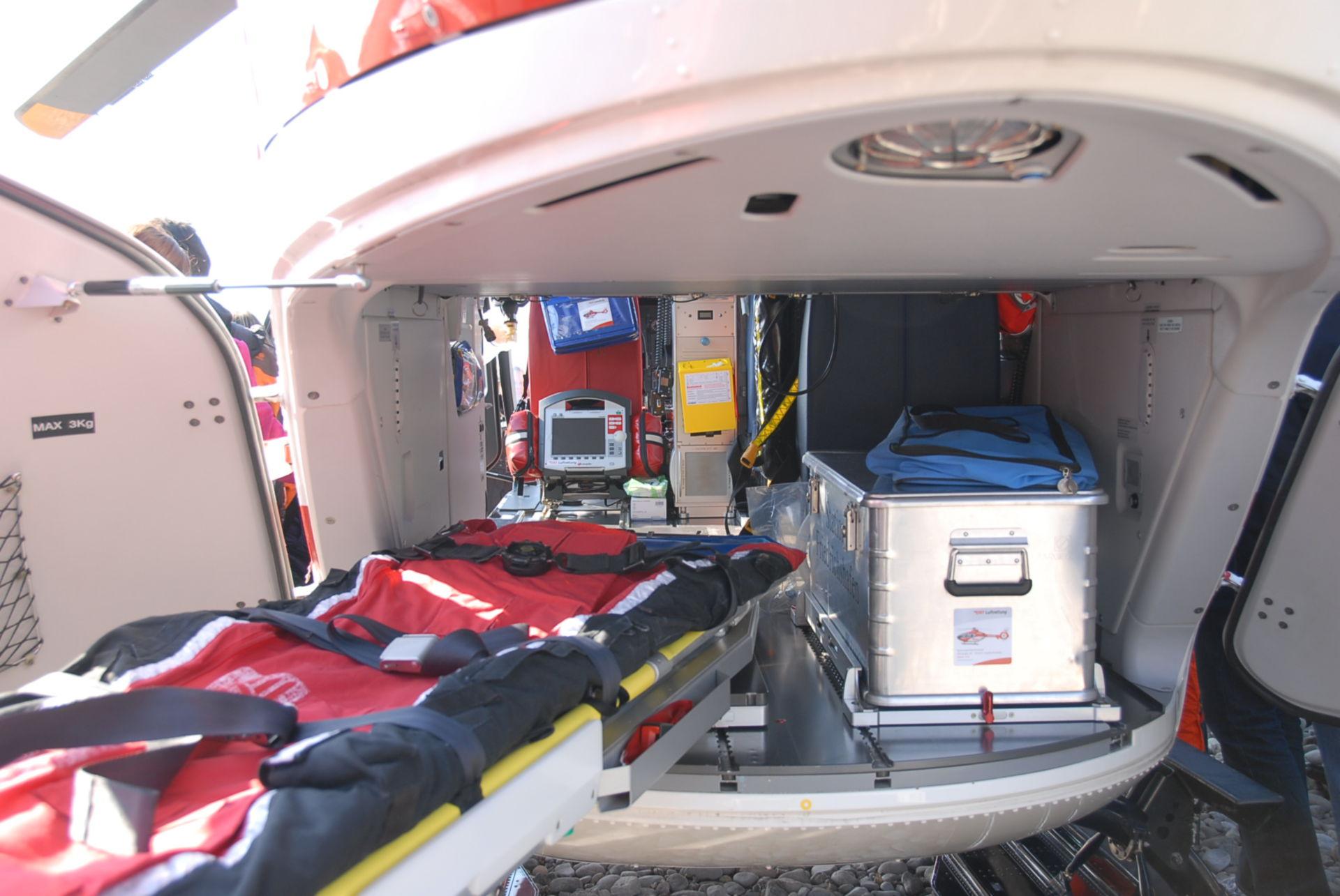 Emergenza e soccorso in elicottero