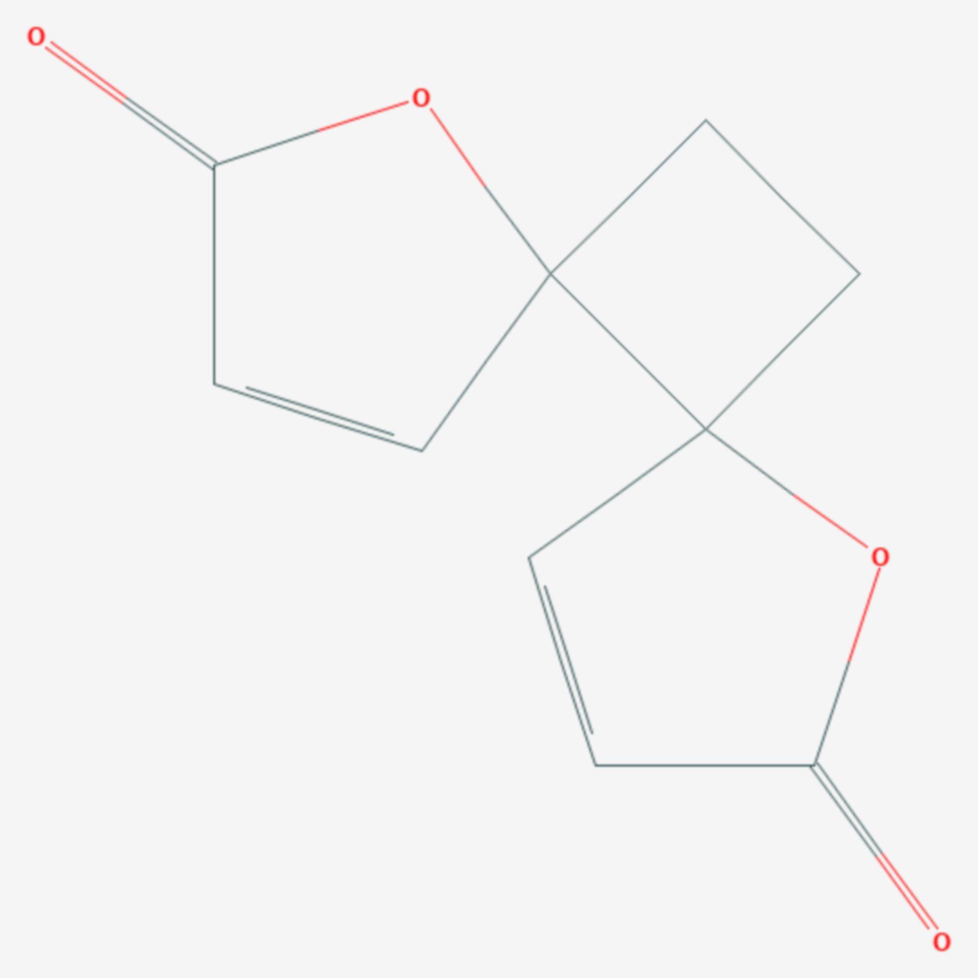 Anemonin (Strukturformel)