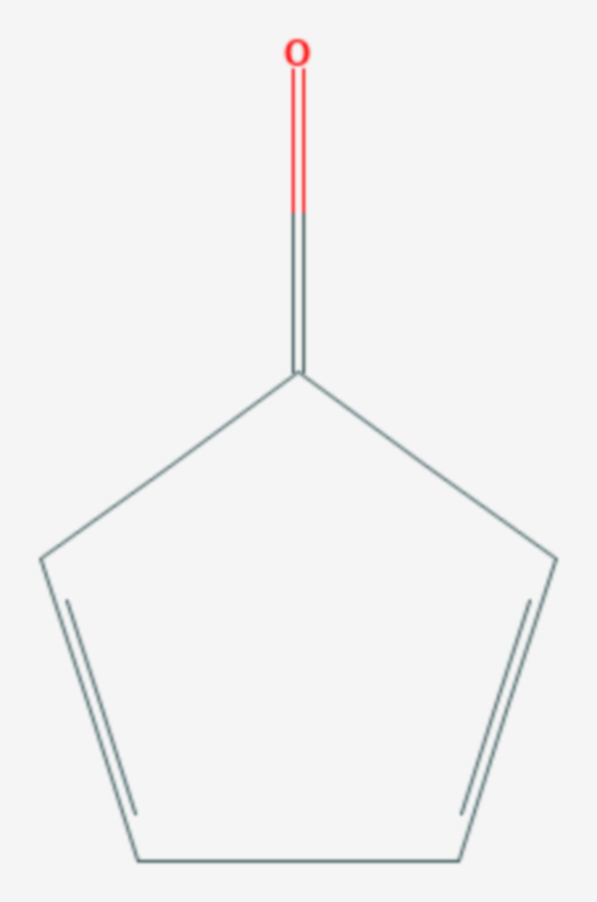 Cyclopentadienon (Strukturformel)