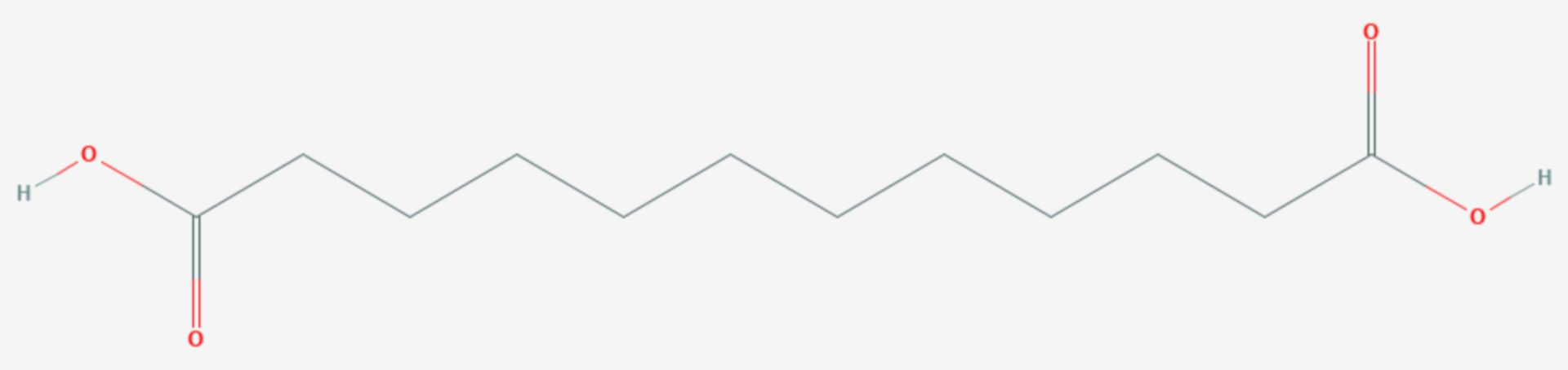 1,12-Dodecandisäure (Strukturformel)