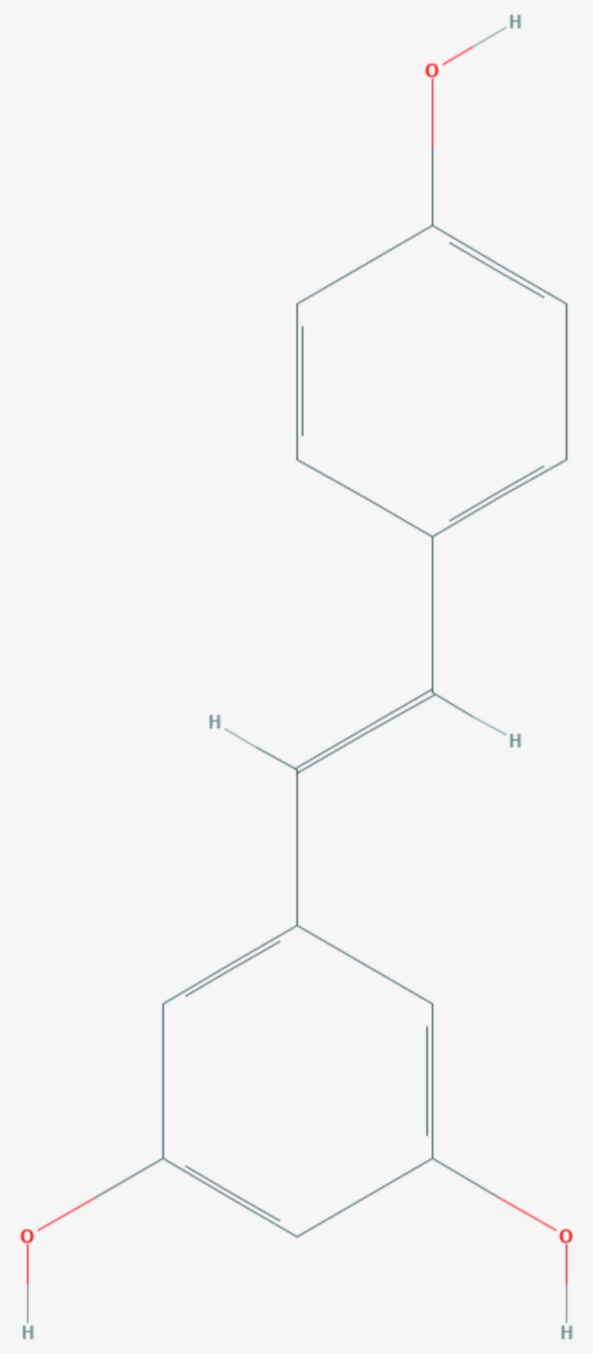 Resveratrol (Strukturformel)