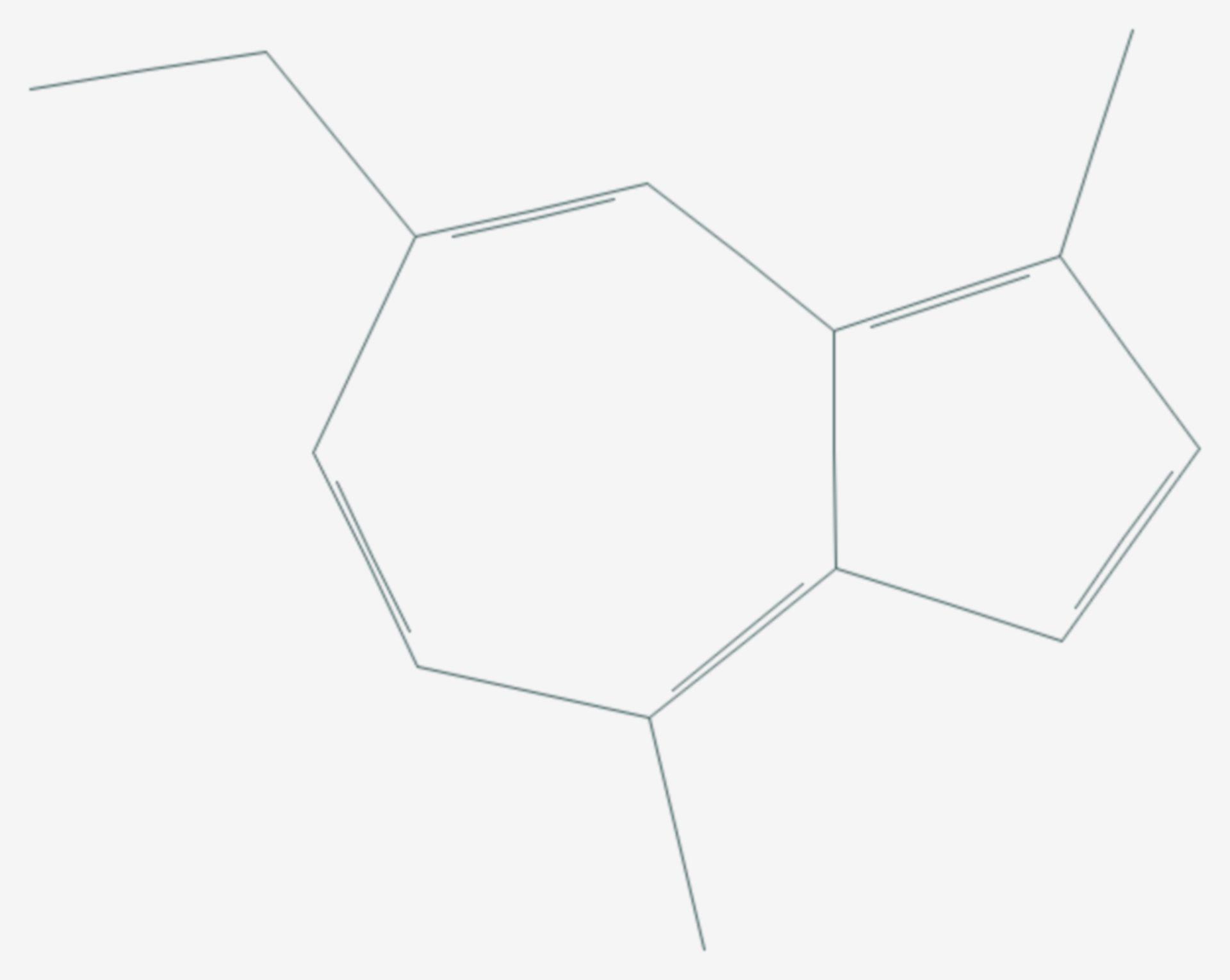Chamazulen (Strukturformel)