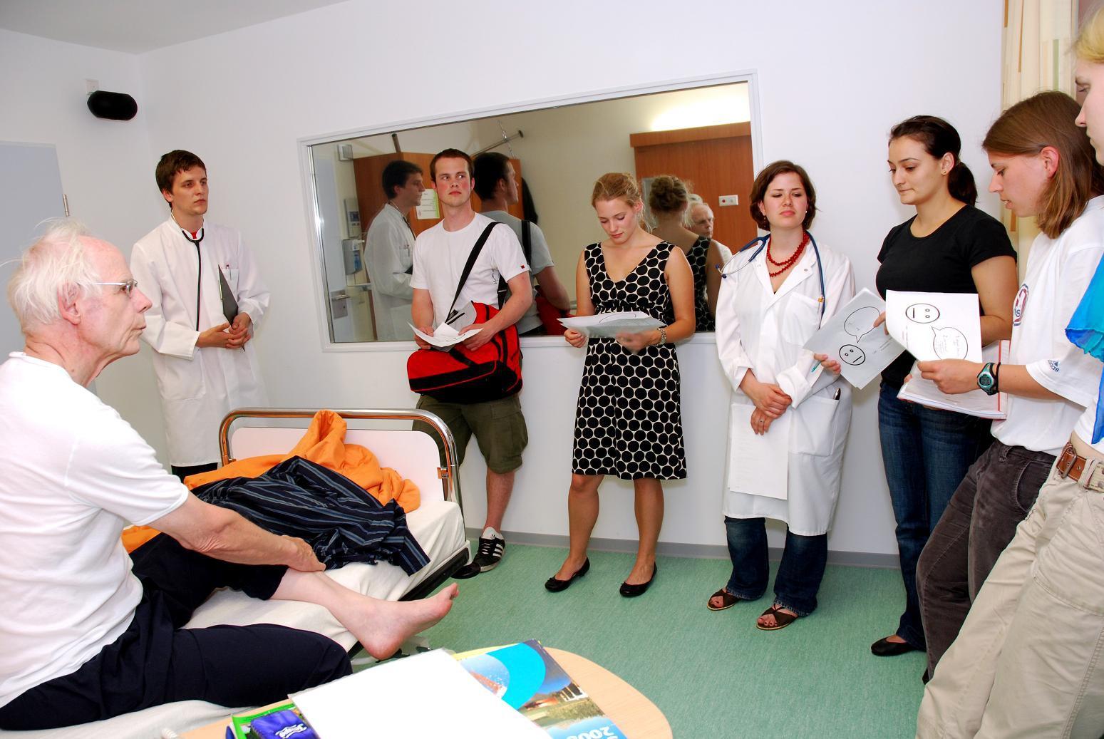 Im Patientenzimmer