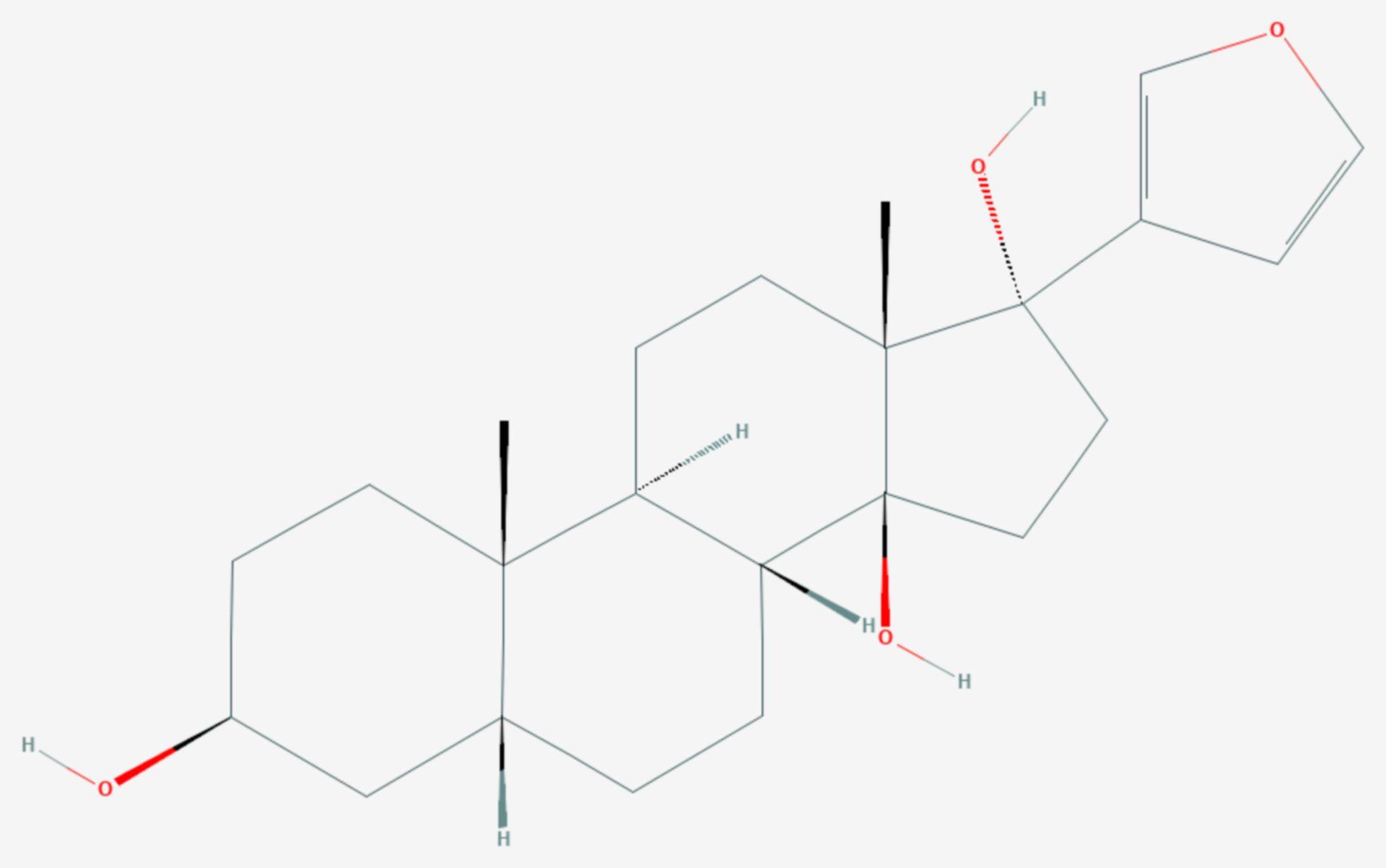 Rostafuroxin (Strukturformel)