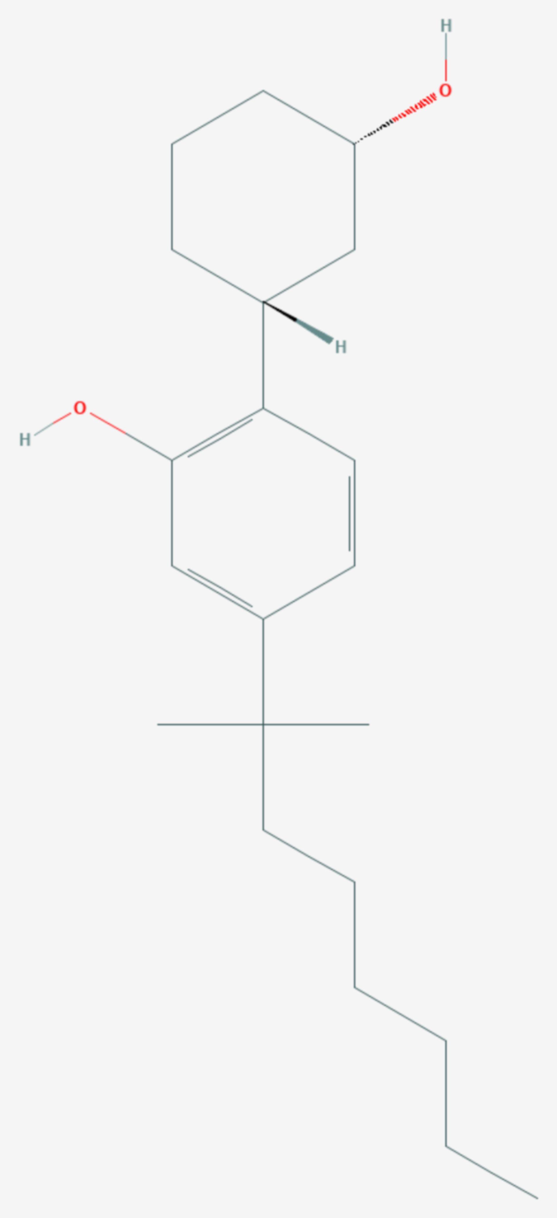 CP-47,497 (Strukturformel)
