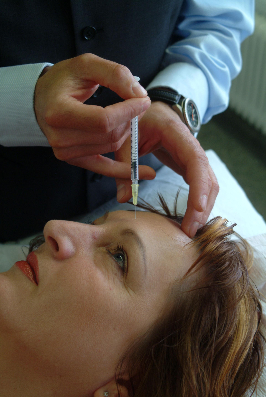 Trattamento dell'emicrania con botox