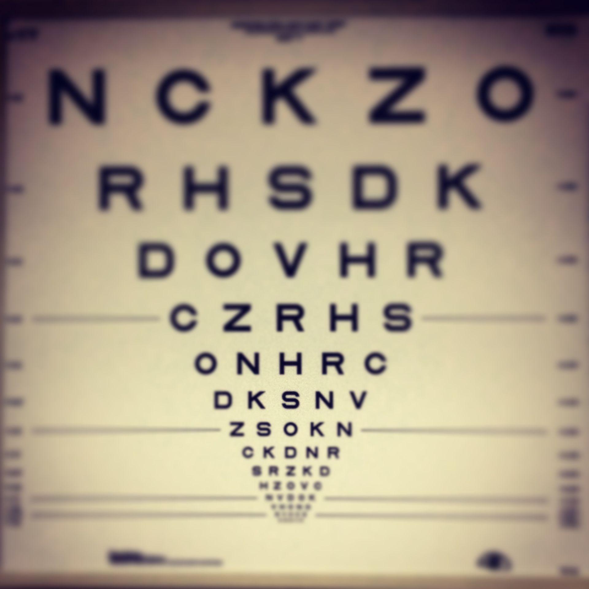 Tabla optométrica N2