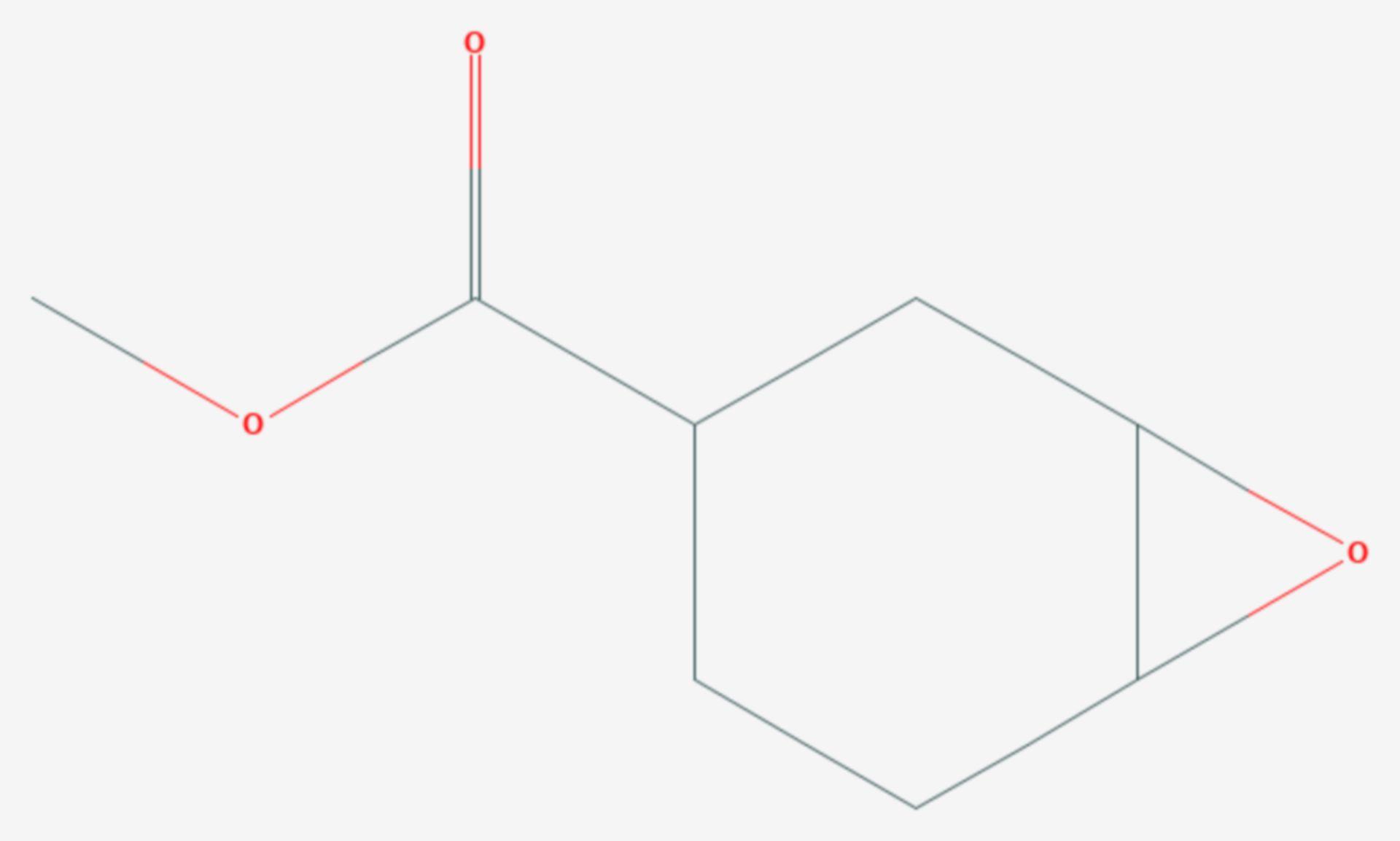 3,4-Epoxycyclohexancarboxylatmethylester (Strukturformel)