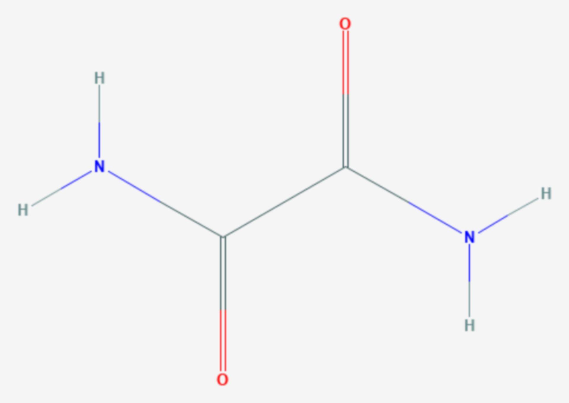 Oxamid (Strukturformel)