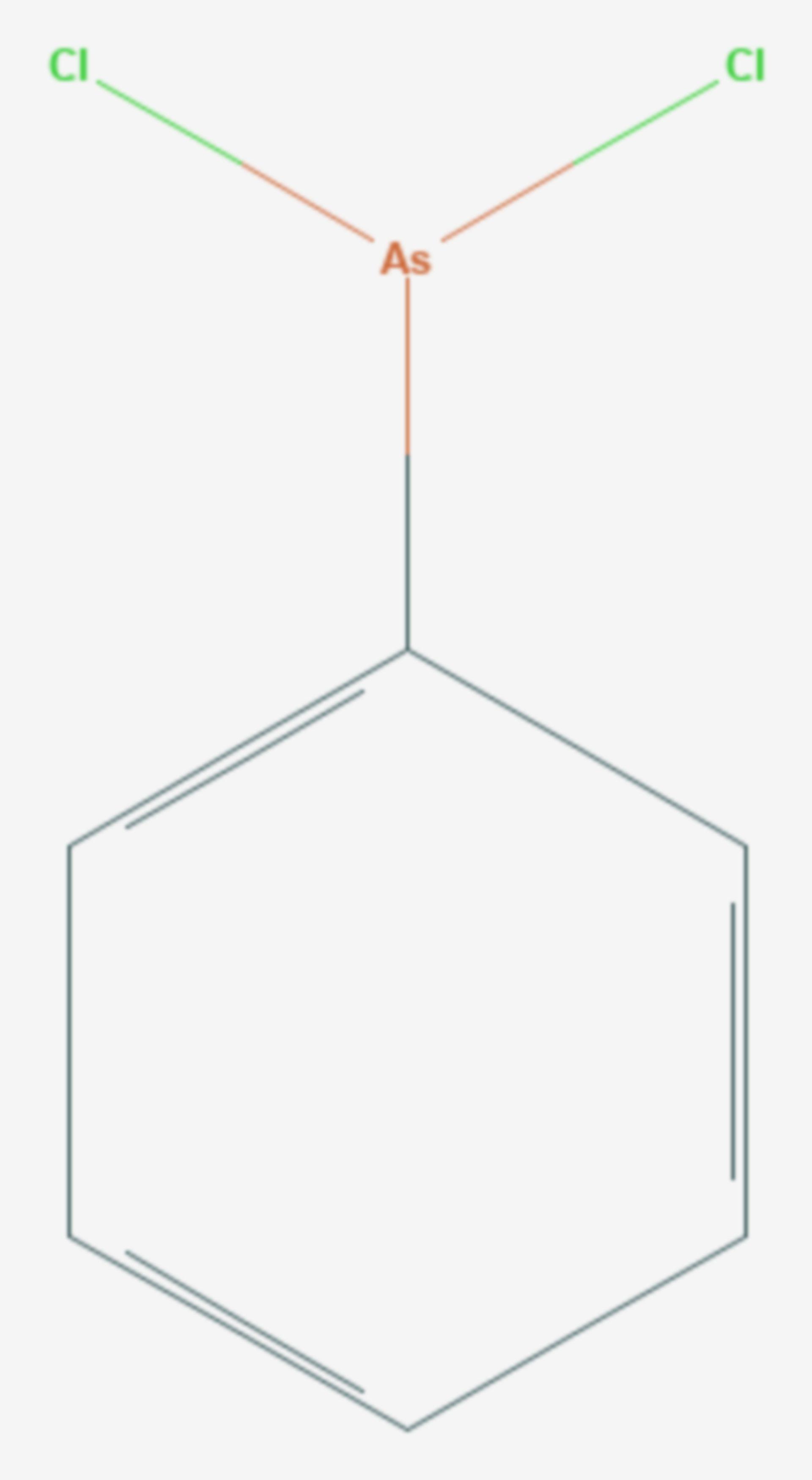 Phenylarsindichlorid (Strukturformel)
