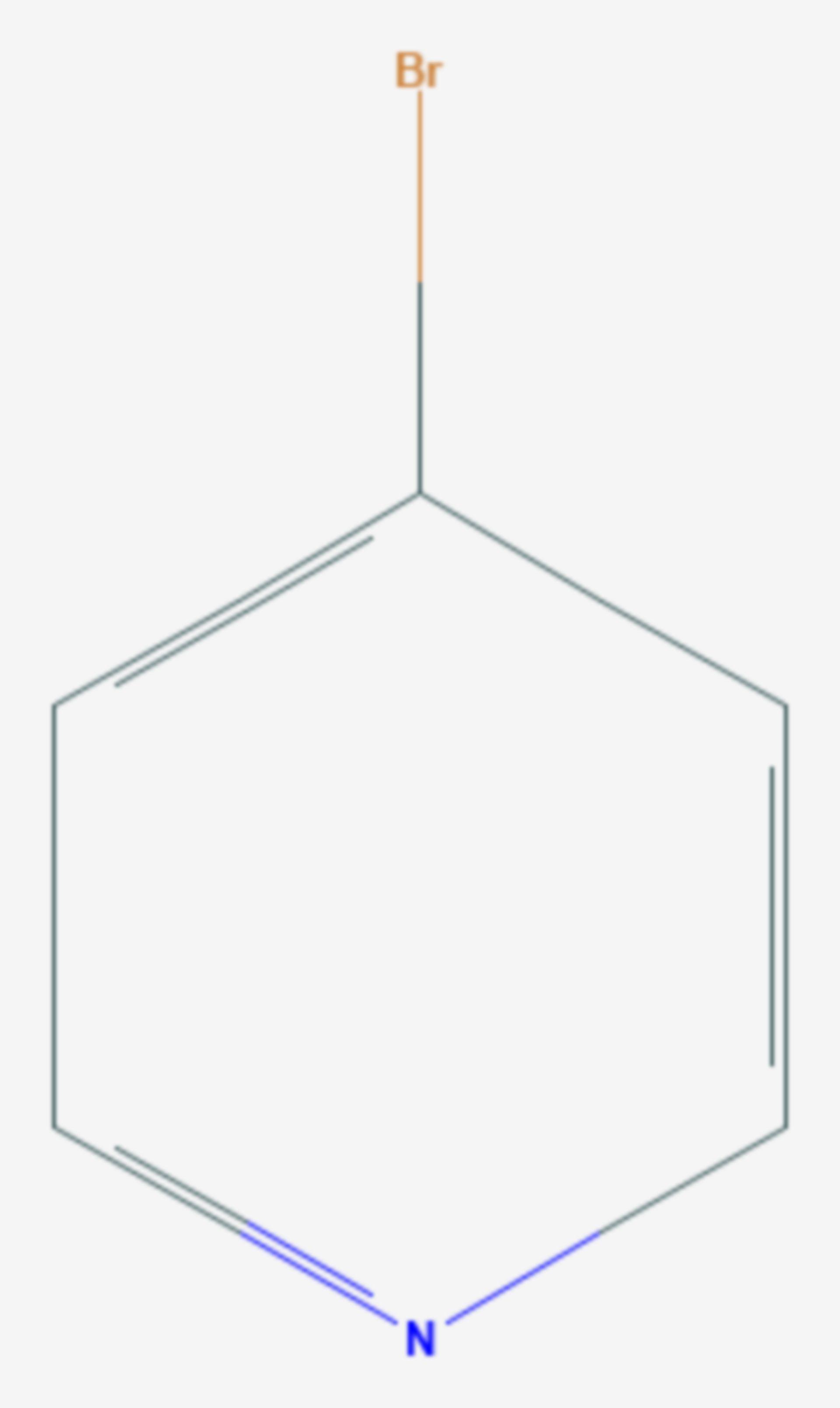 4-Brompyridin (Strukturformel)