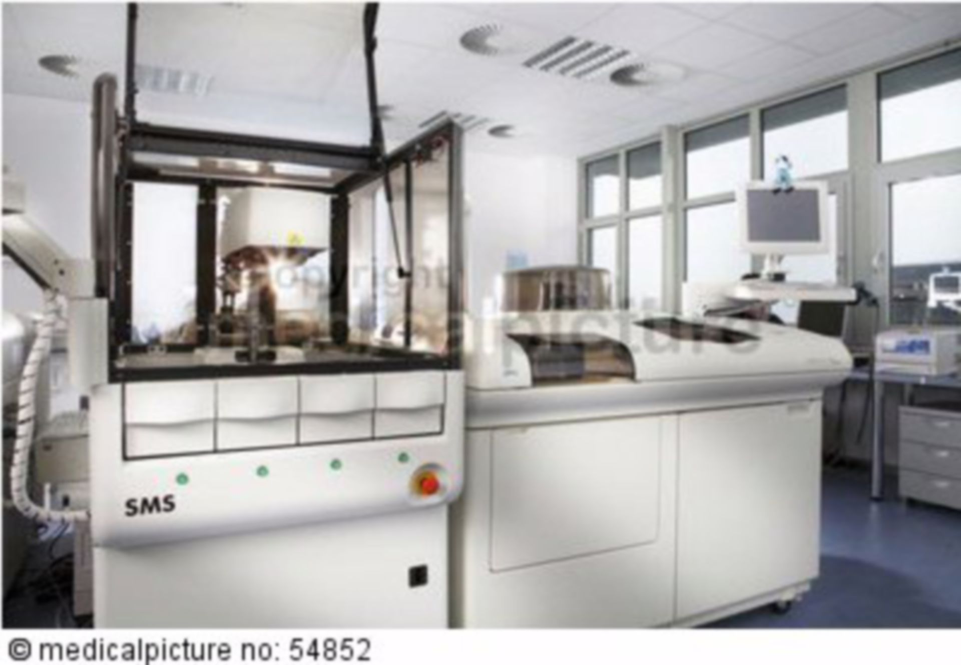 Laborroboter im PPZ Bochum Geraet SMS