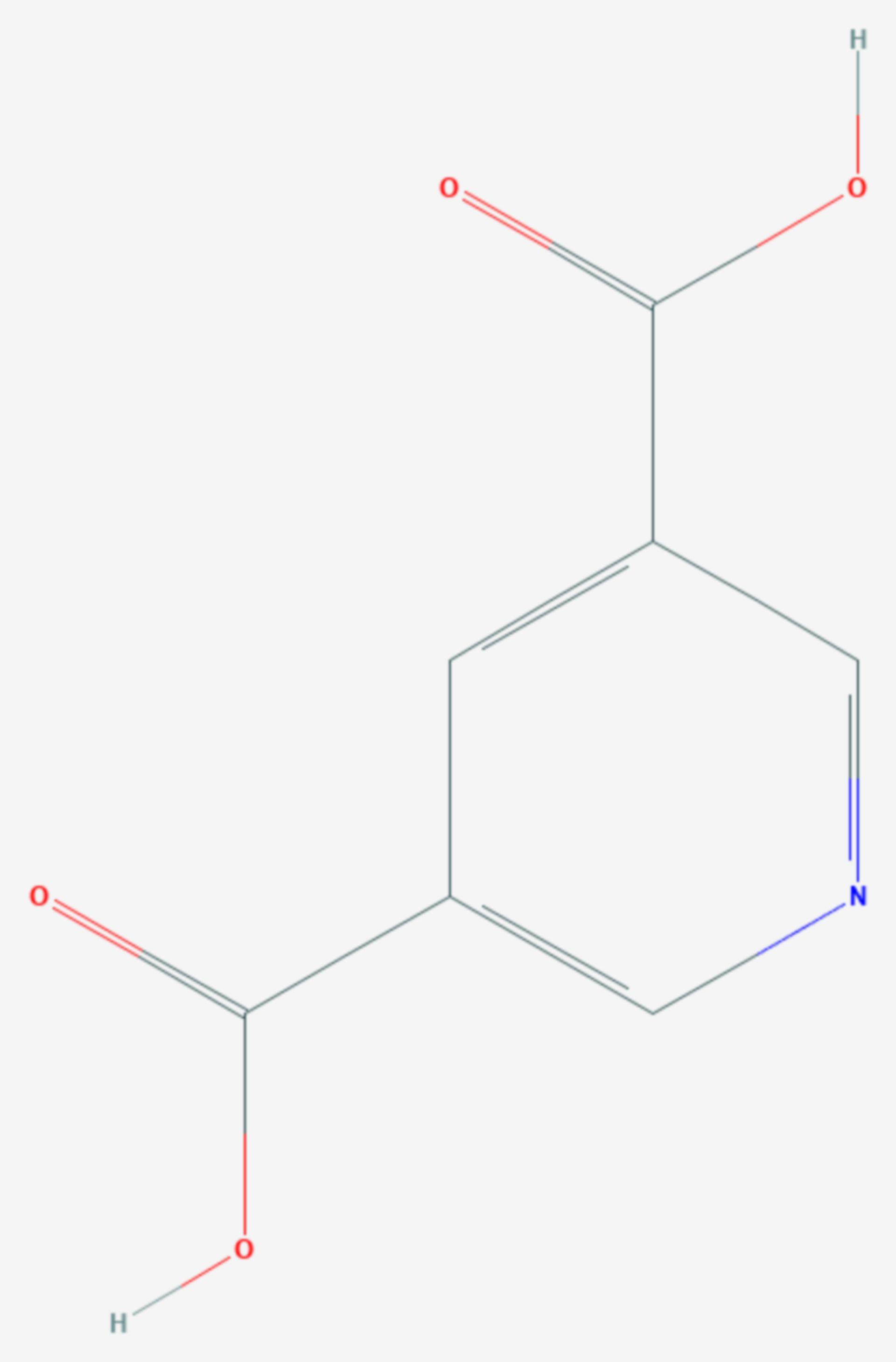 Dinicotinsäure (Strukturformel)
