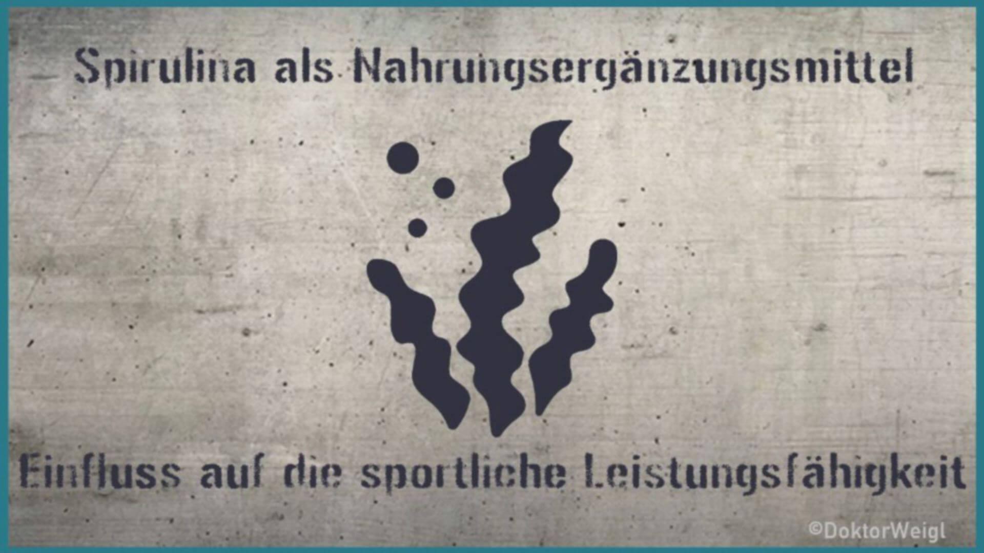 Steigert Spirulina die sportliche Leistungsfähigkeit?