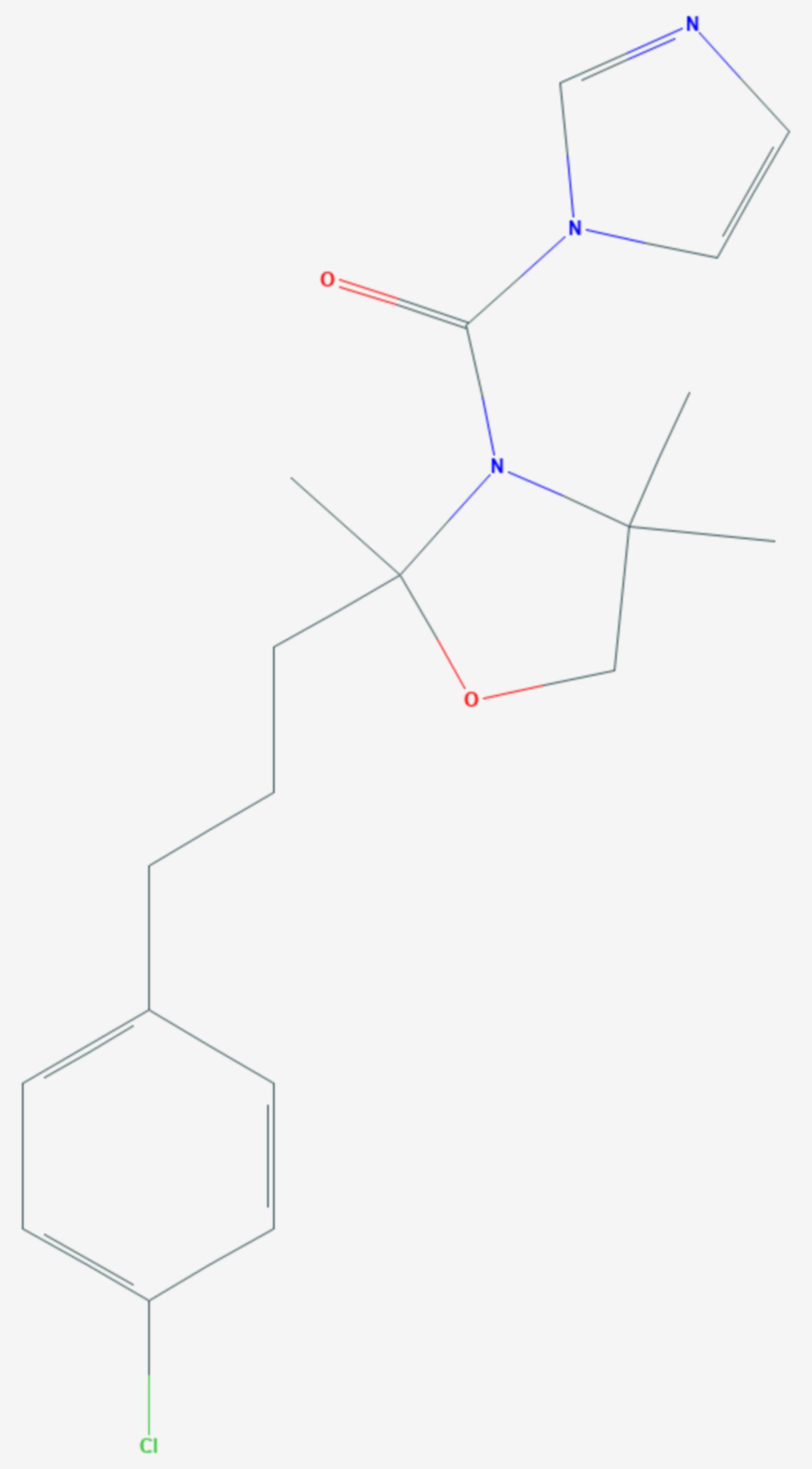 Oxpoconazol (Strukturformel)