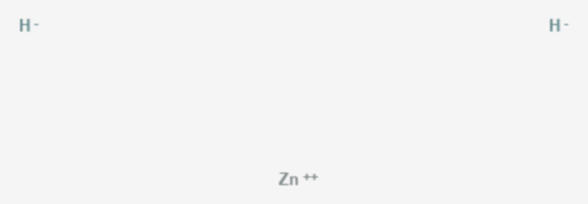 Zink(II)-hydrid (Strukturformel)