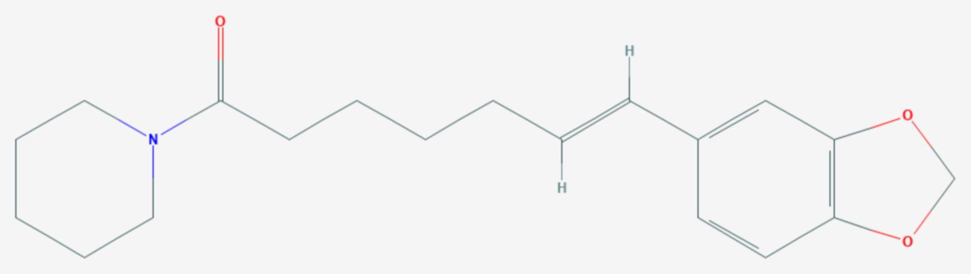 Piperettin (Strukturformel)