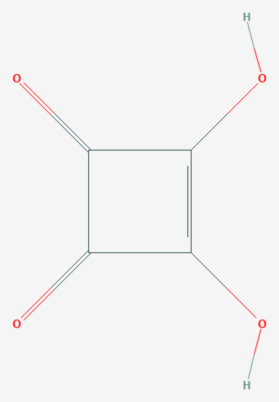 Quadratsäure (Strukturformel)