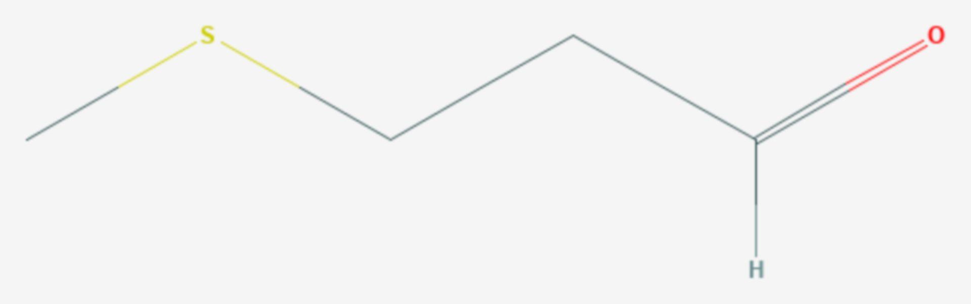 Methional (Strukturformel)