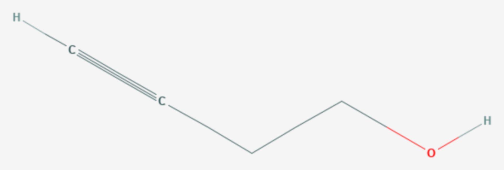 3-Butin-1-ol (Strukturformel)