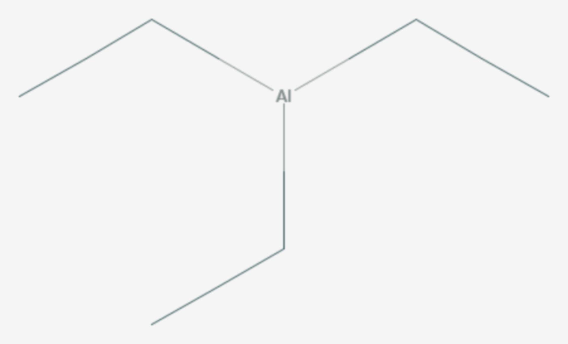 Triethylaluminium (Strukturformel)