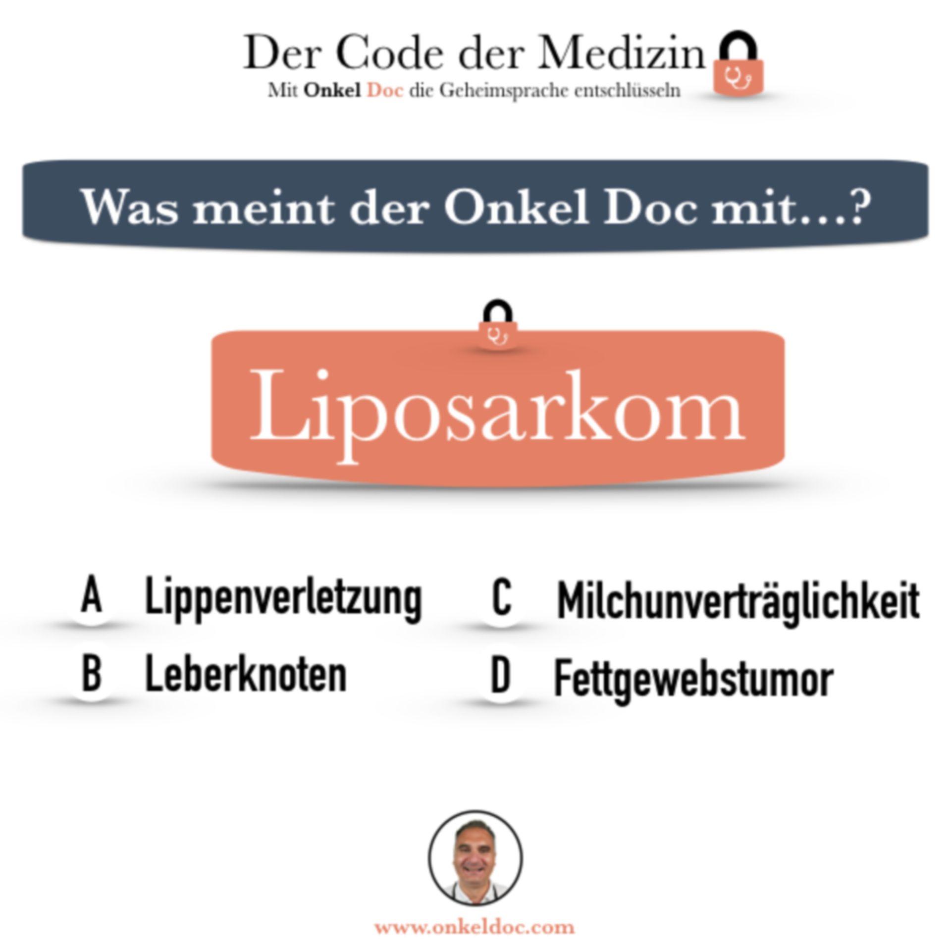 Frage zum Code Liposarkom