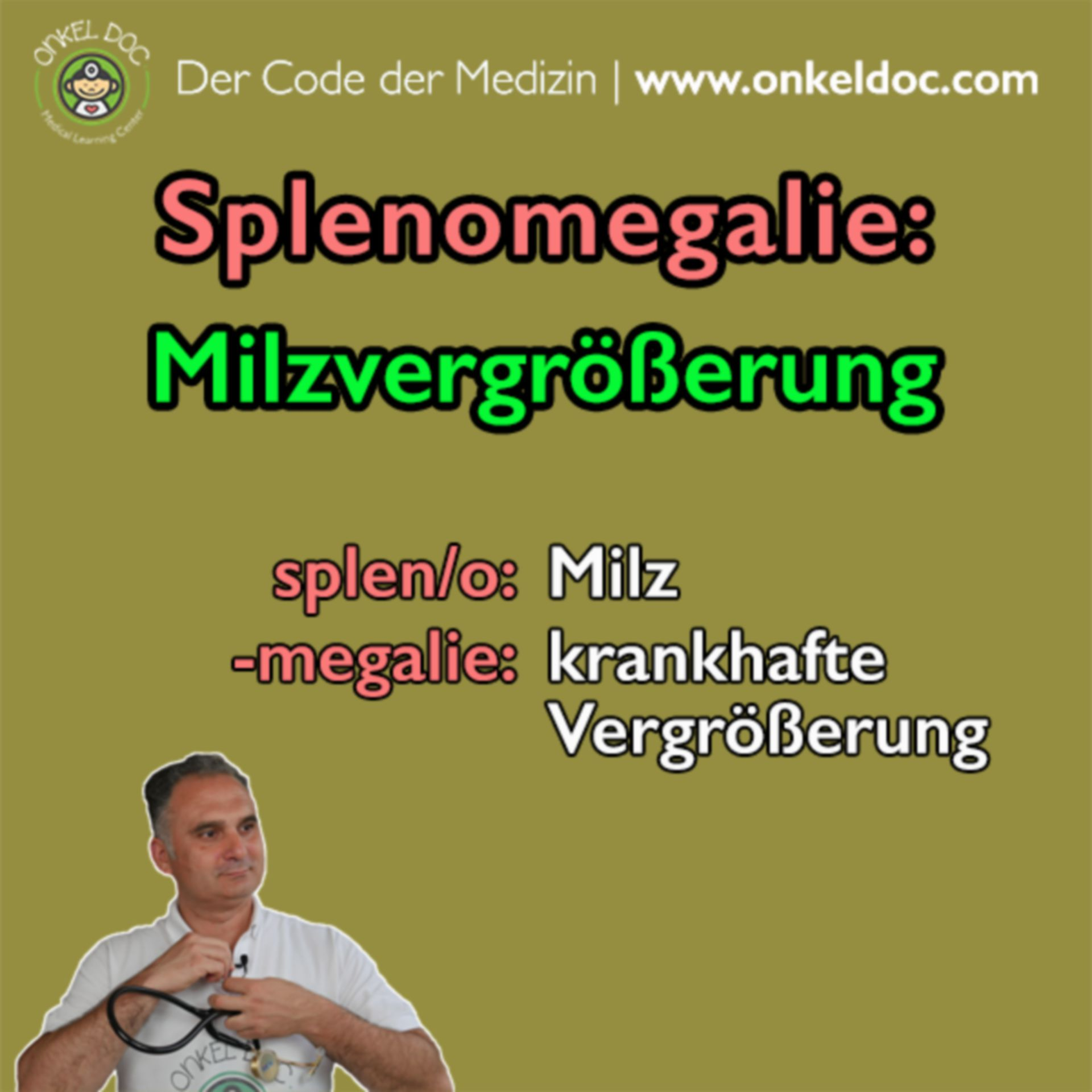 Der Code der Splenomegalie