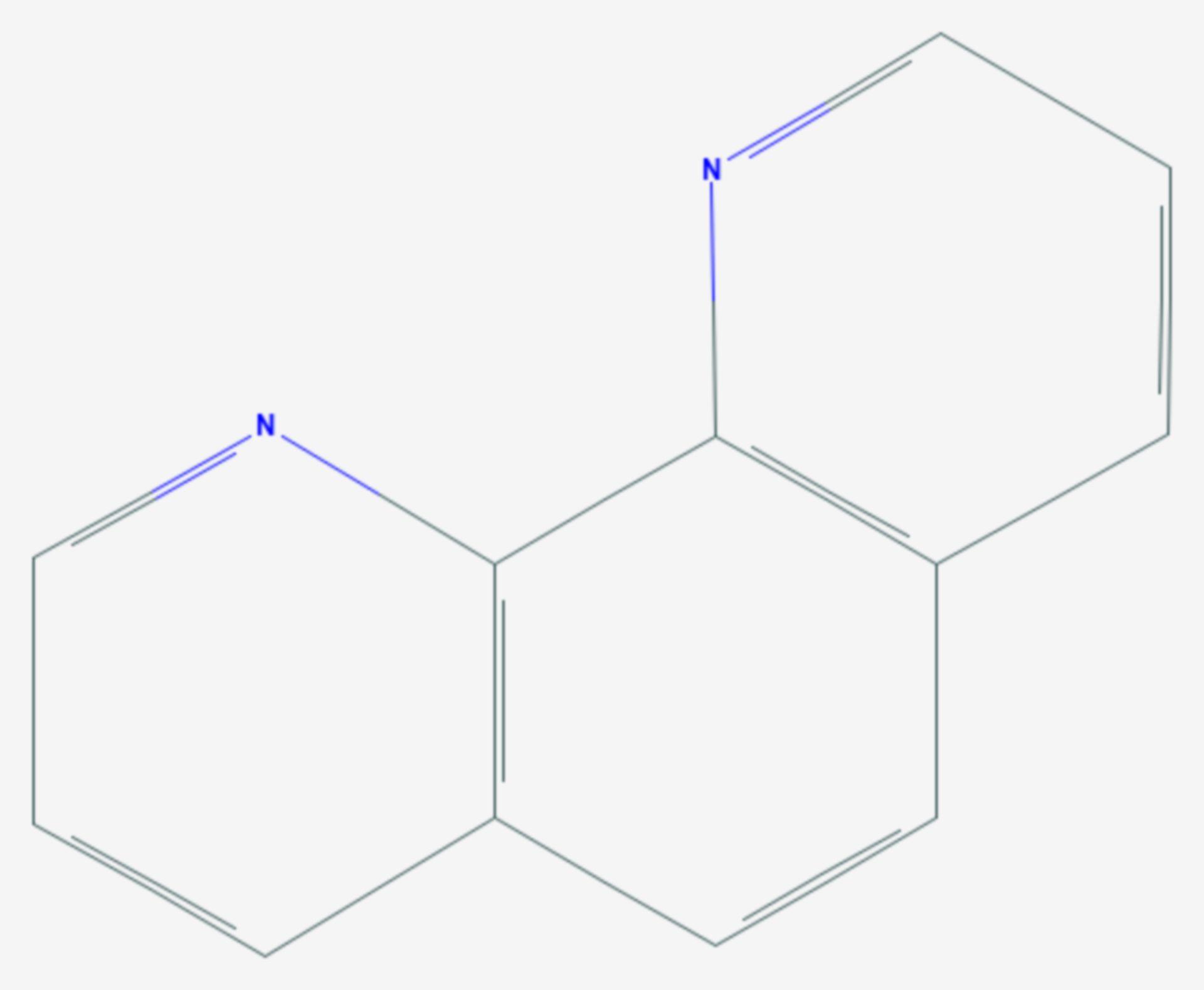 Phenanthrolin (Strukturformel)