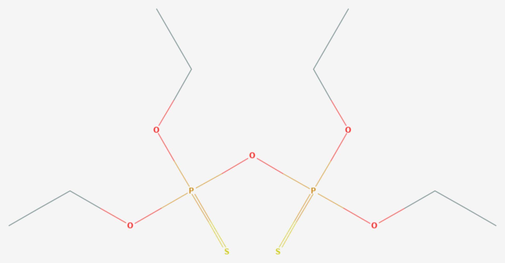 Sulfotep (Strukturformel)