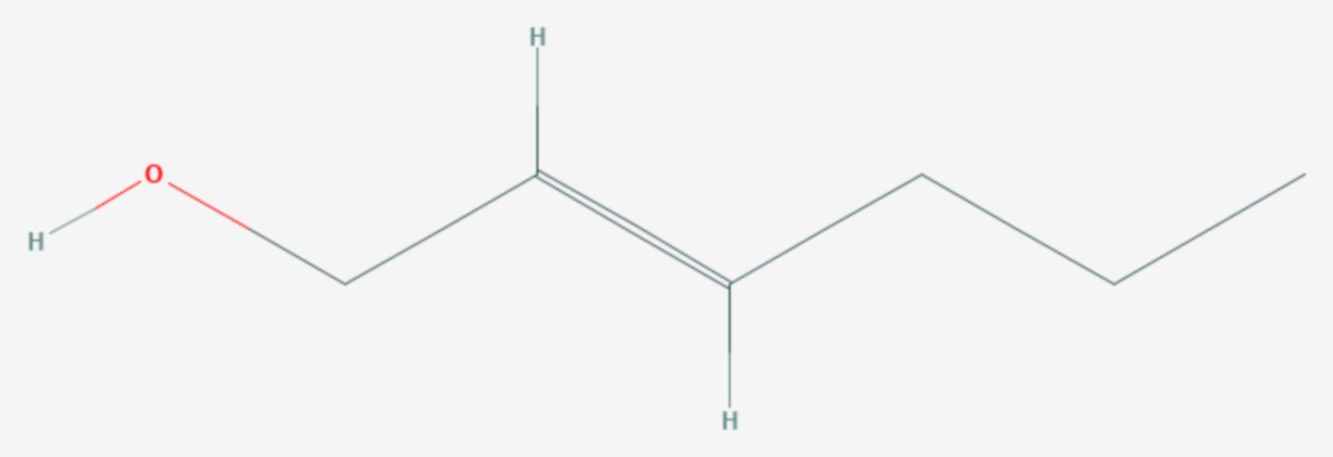 Trans-2-Hexen-1-ol (Strukturformel)
