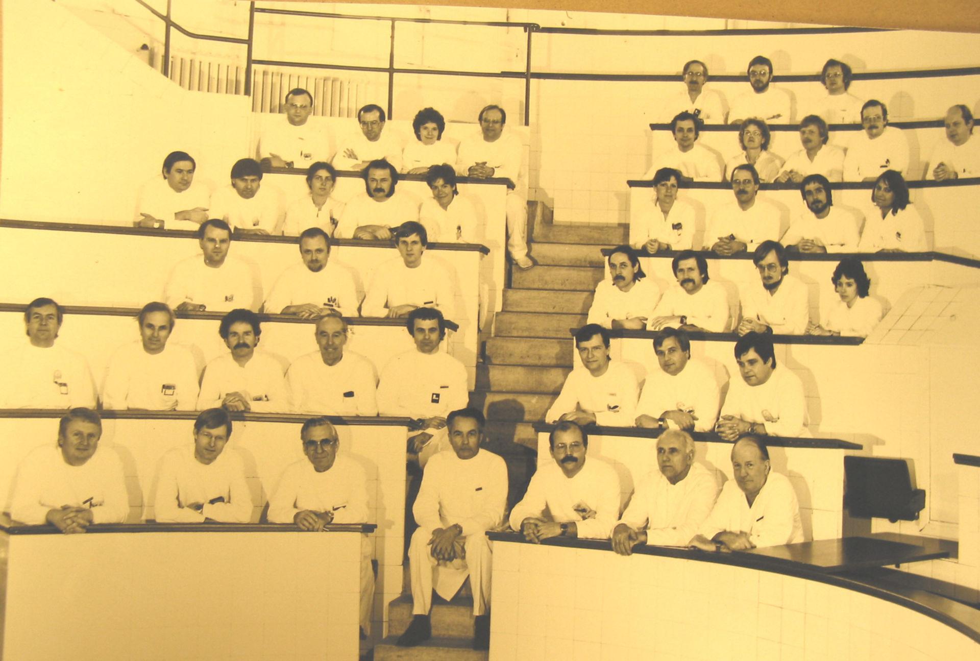Cirujanos de la Universidad de Würzburg, 1979