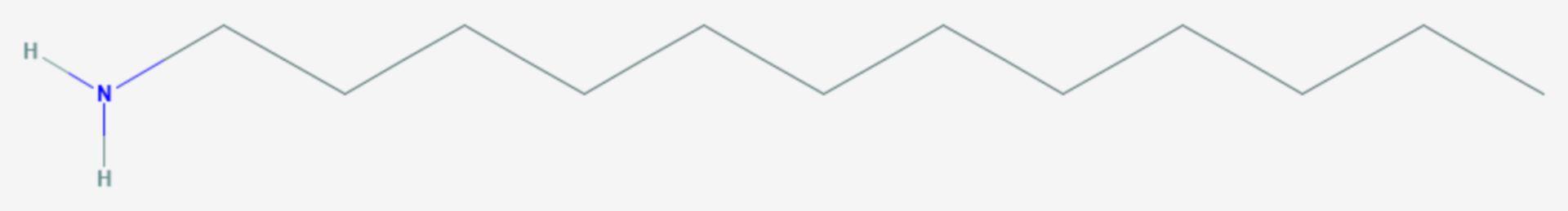 Dodecylamin (Strukturformel)