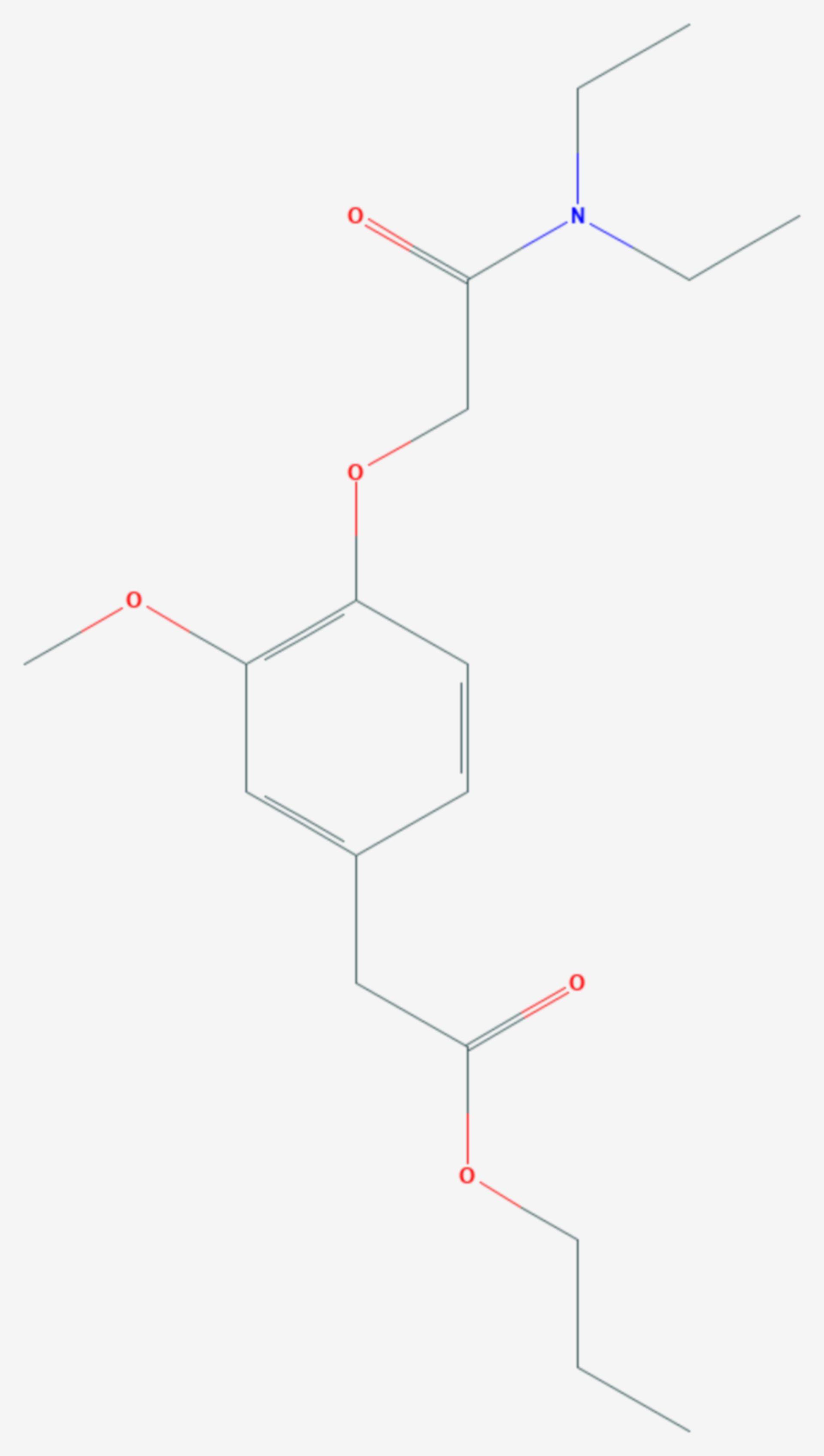 Propanidid (Strukturformel)