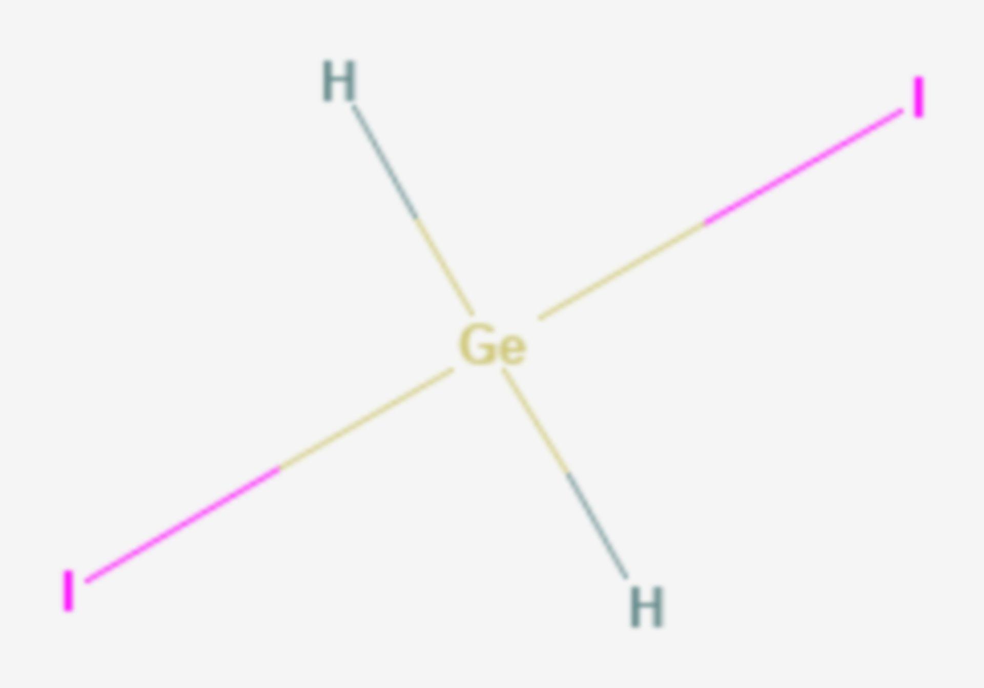 Diiodgerman (Strukturformel)