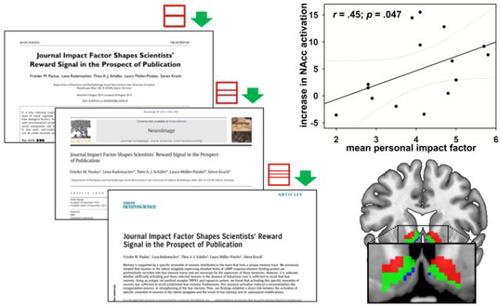 Die Forscher verwendeten Titelseiten von möglichen Publikationen in Fachzeitschriften mit ansteigenden Impact Faktoren. © PLOS ONE