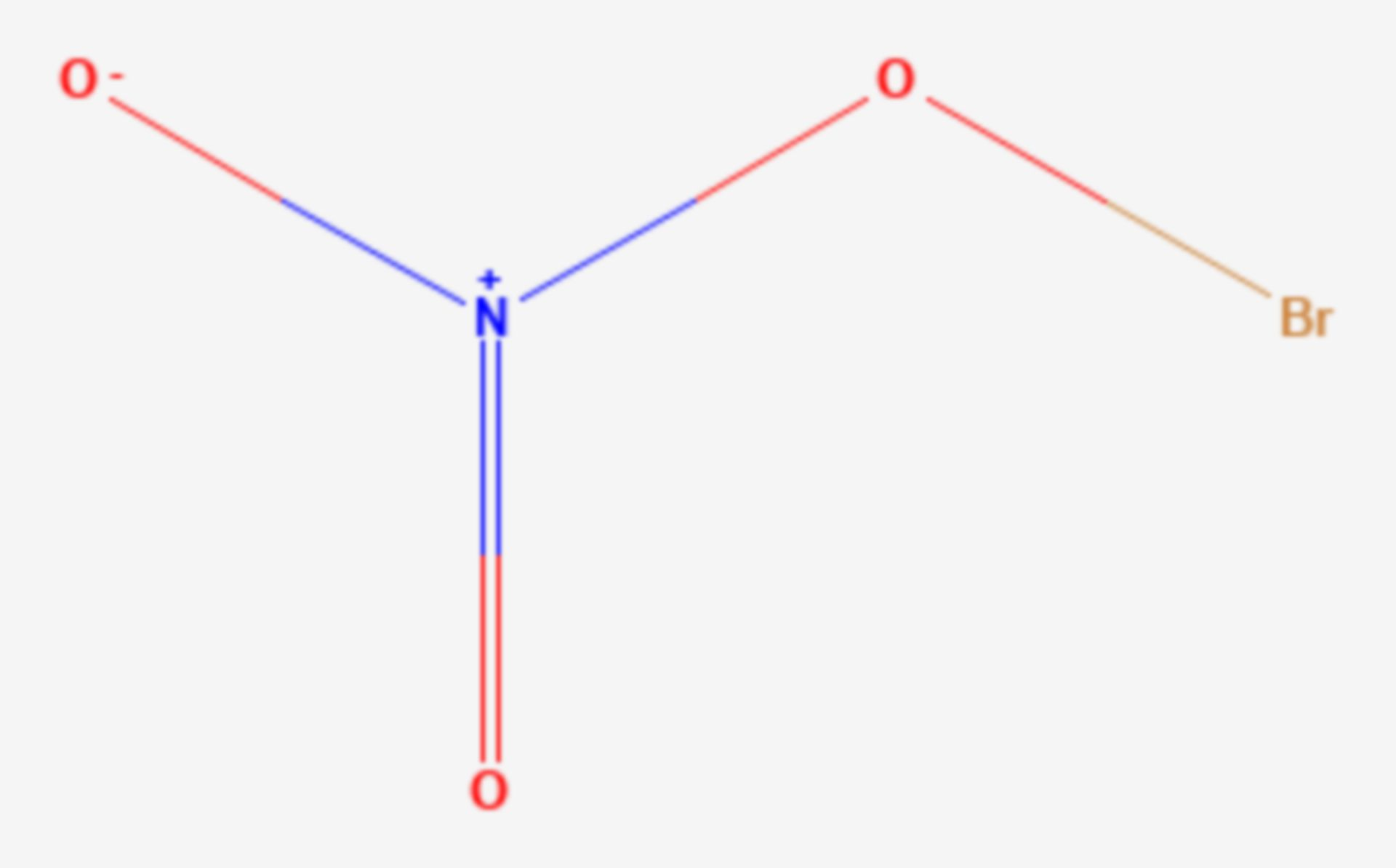 Bromnitrat (Strukturformel)