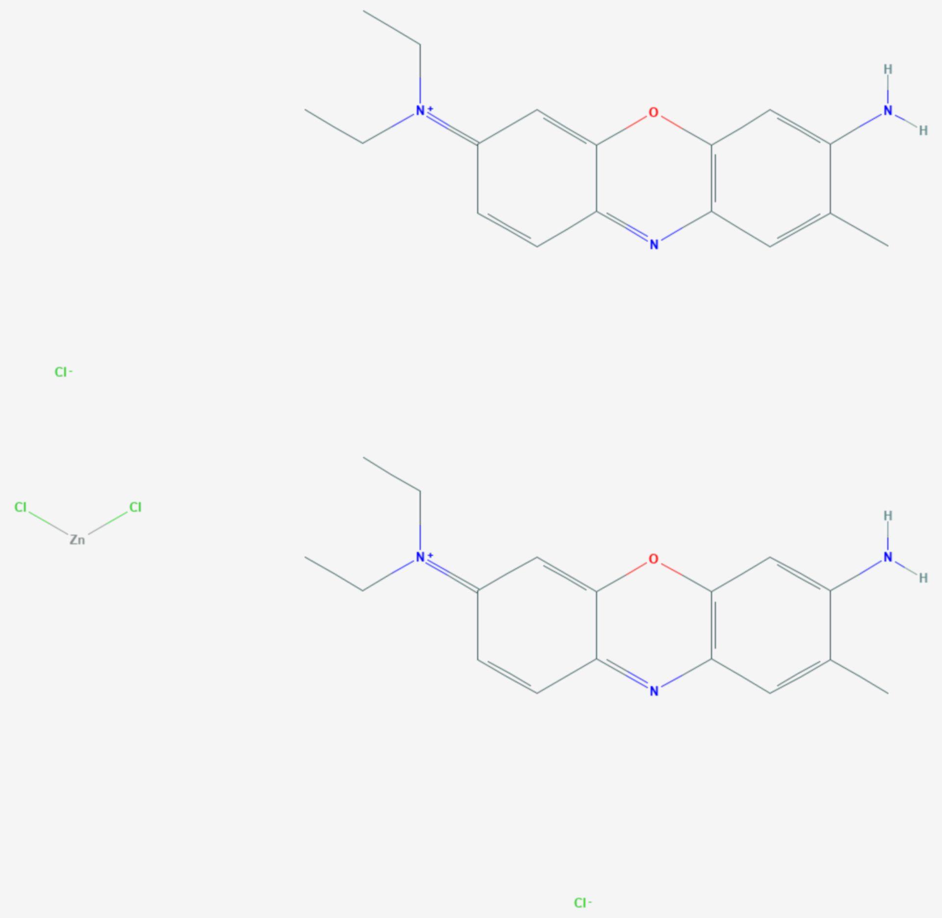 Brillantkresylblau (Strukturformel)