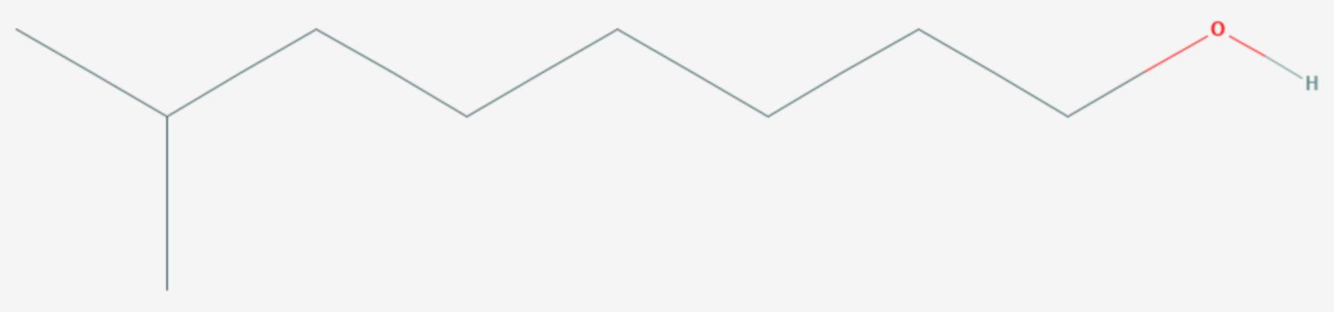 Isononanol (Strukturformel)
