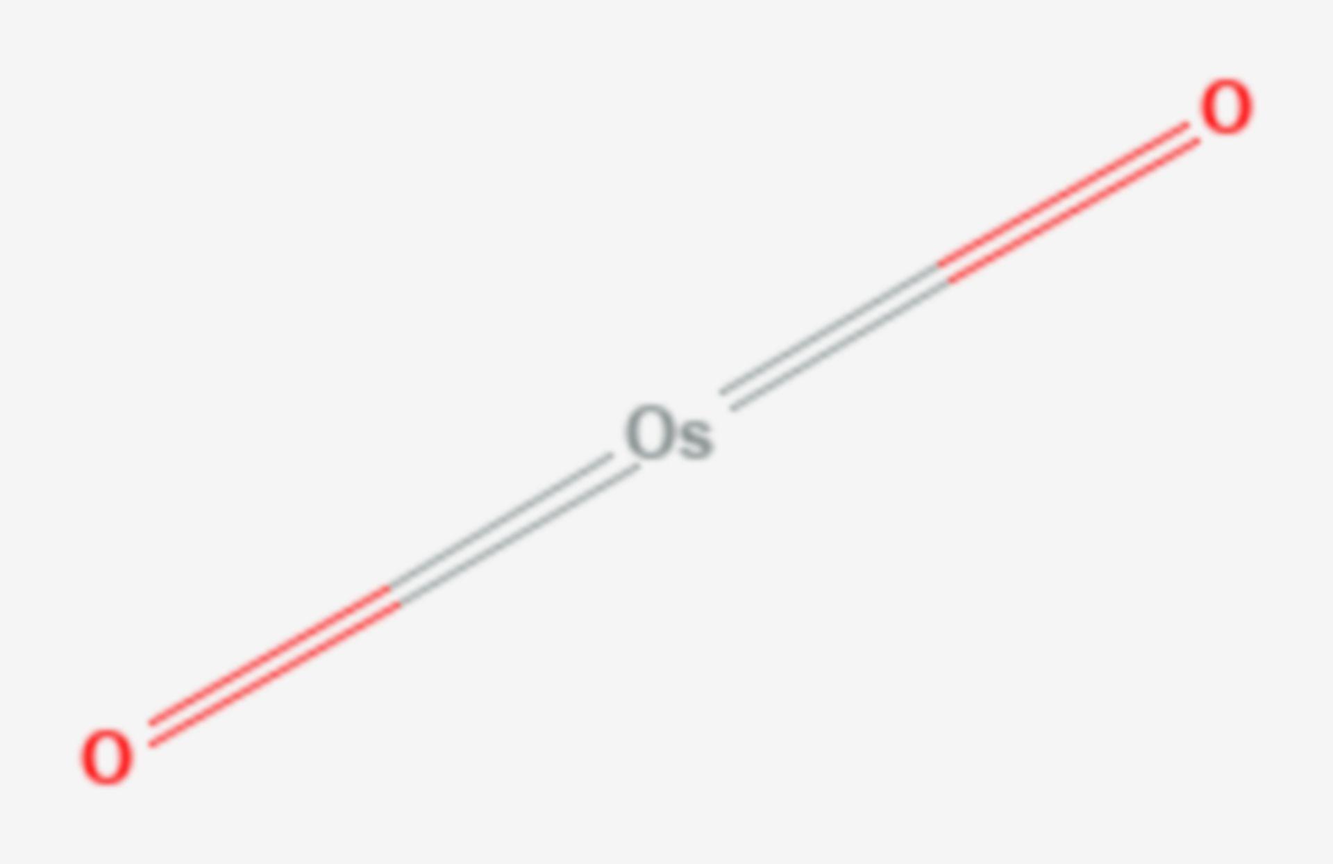 Osmium(IV)-oxid (Strukturformel)
