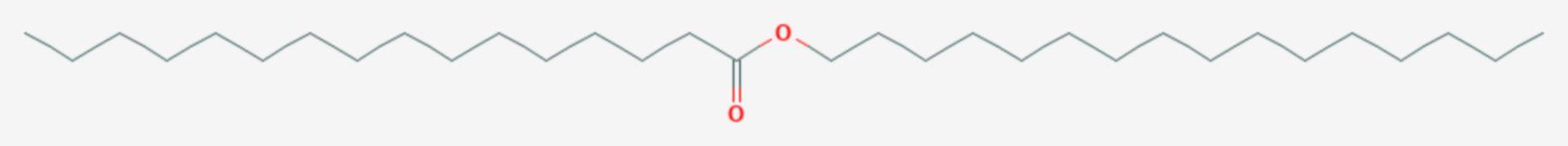 Cetylpalmitat (Strukturformel)
