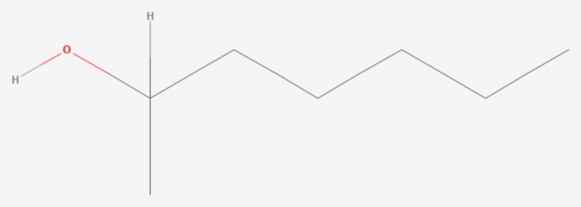 2-Heptanol (Strukturformel)