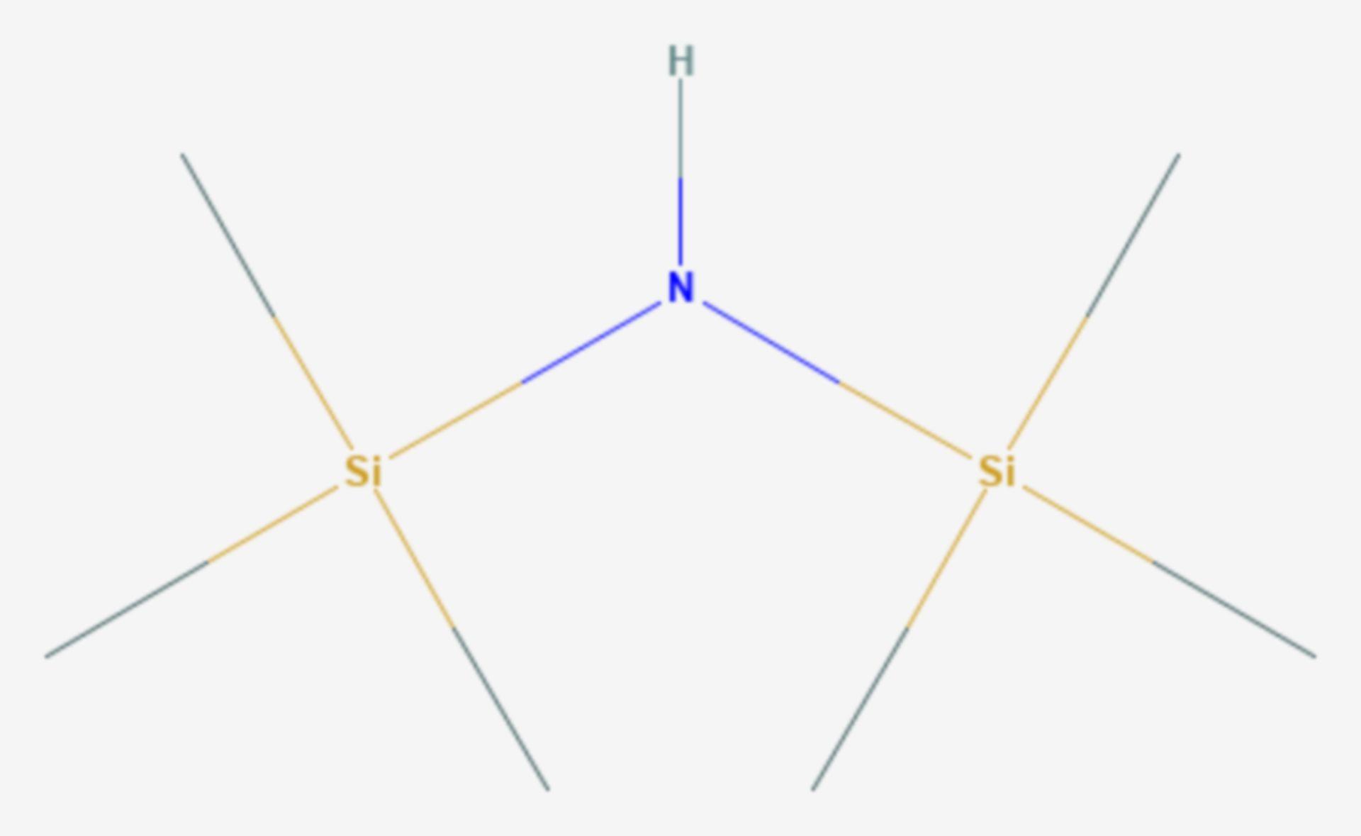 Hexamethyldisilazan (Strukturformel)