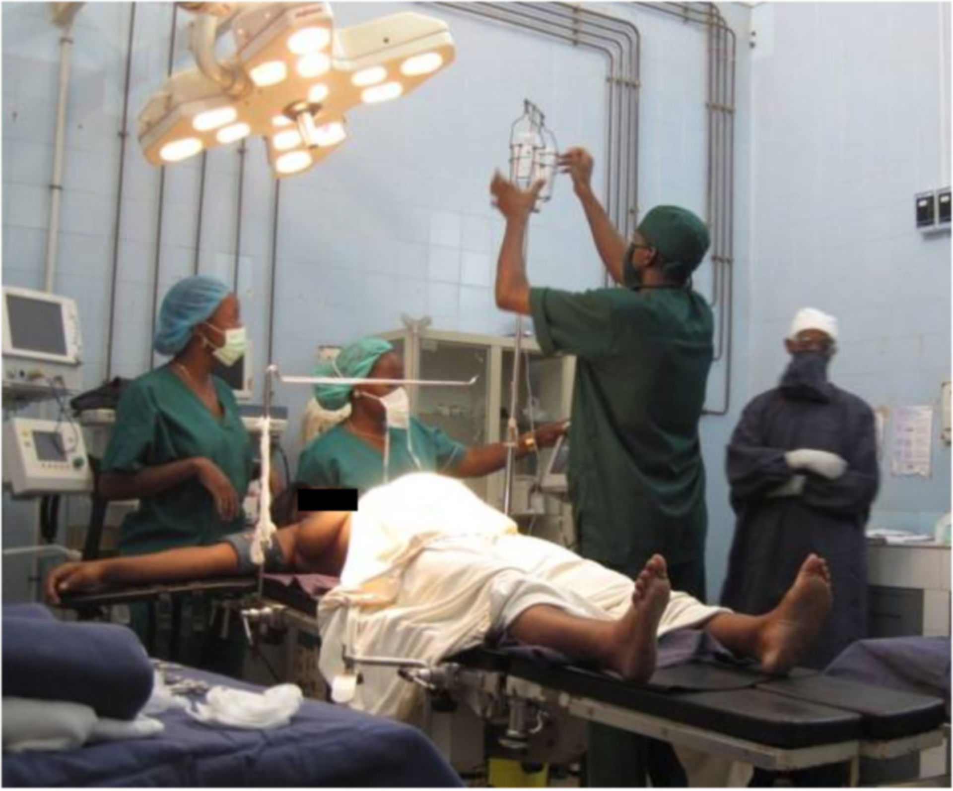 Anästhesie in Westafrika