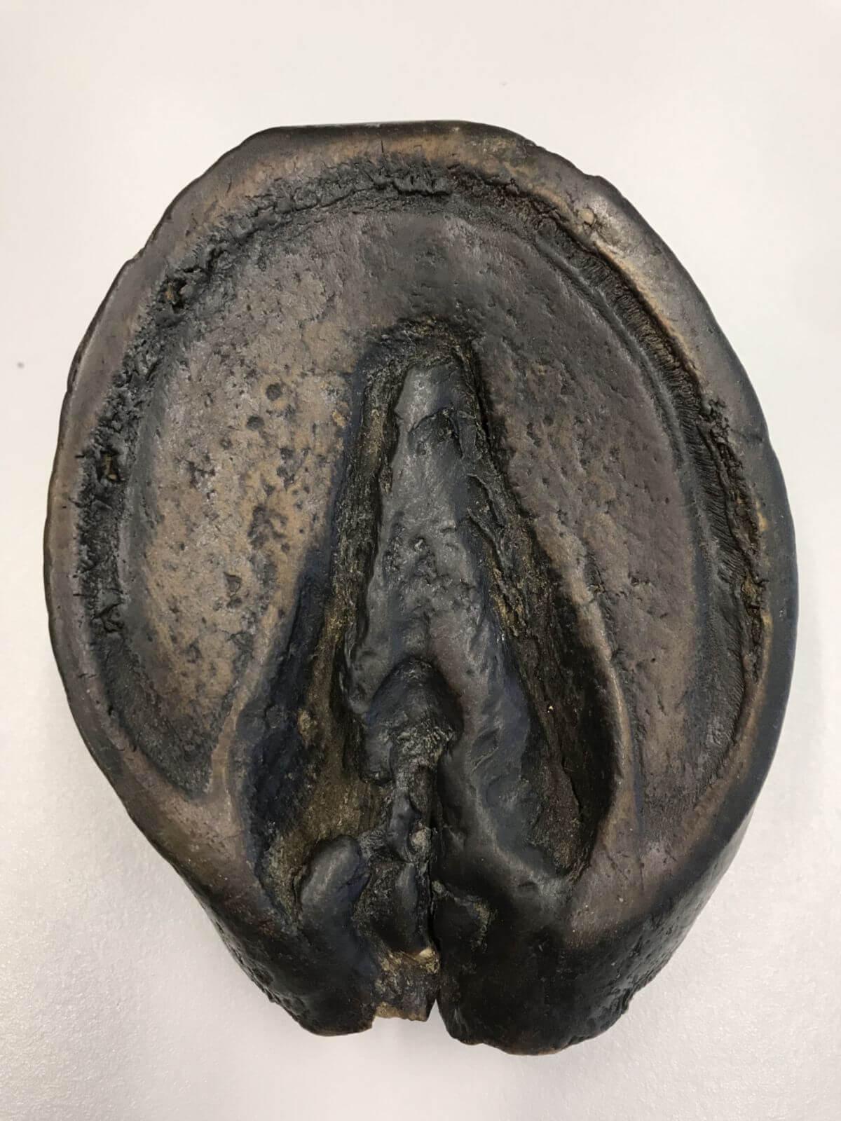 Trachtenzwanghuf (Sohlenfläche)