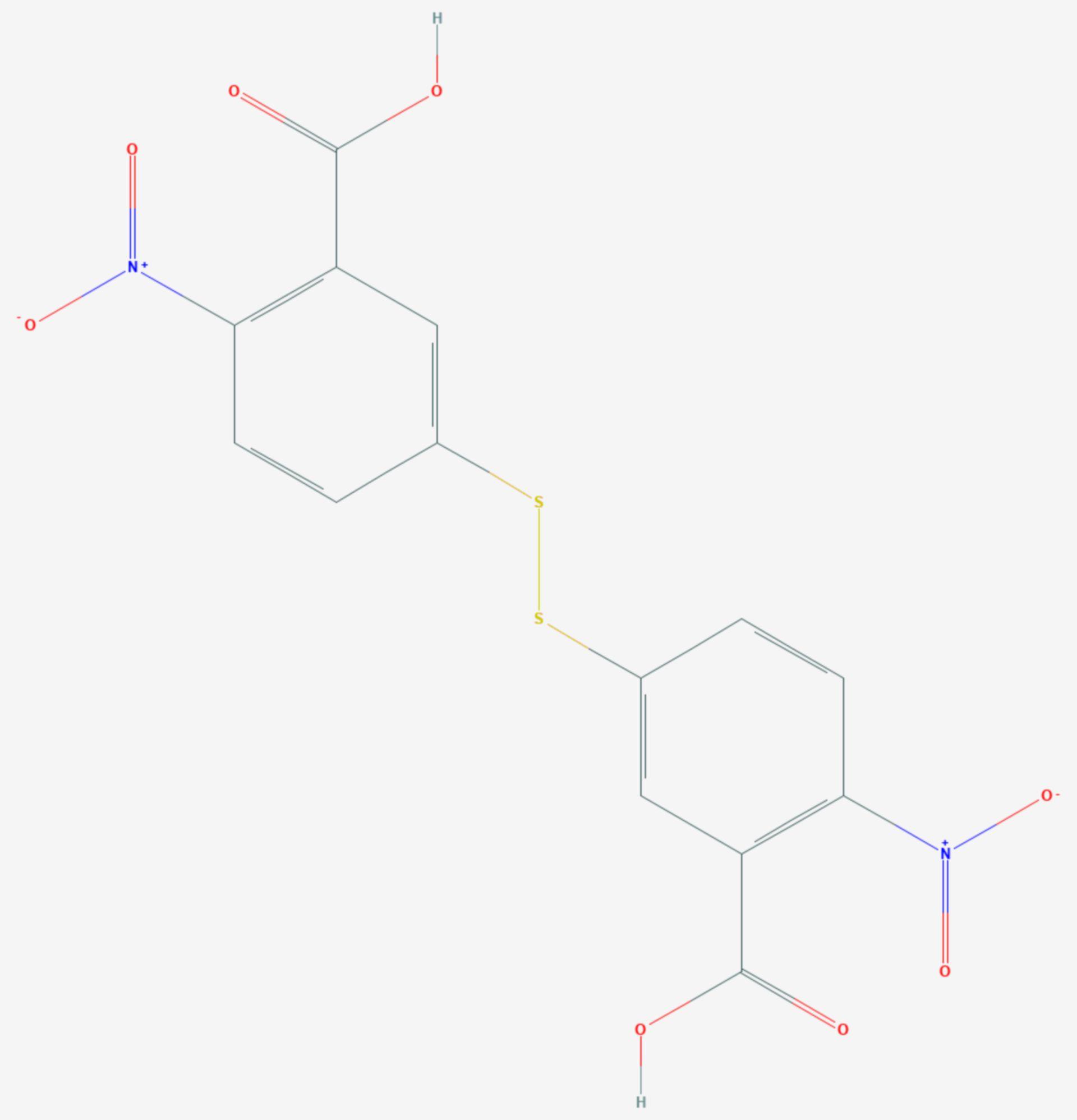 Ellmans Reagenz (Strukturformel)