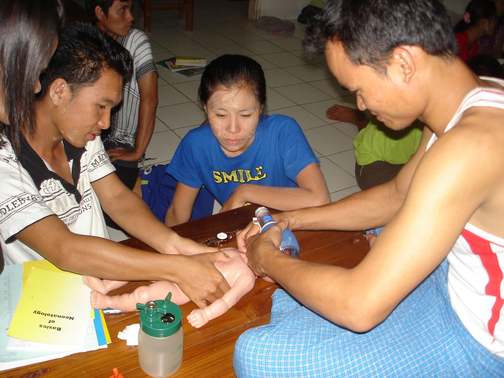 Training of Neonatal Resuscitation
